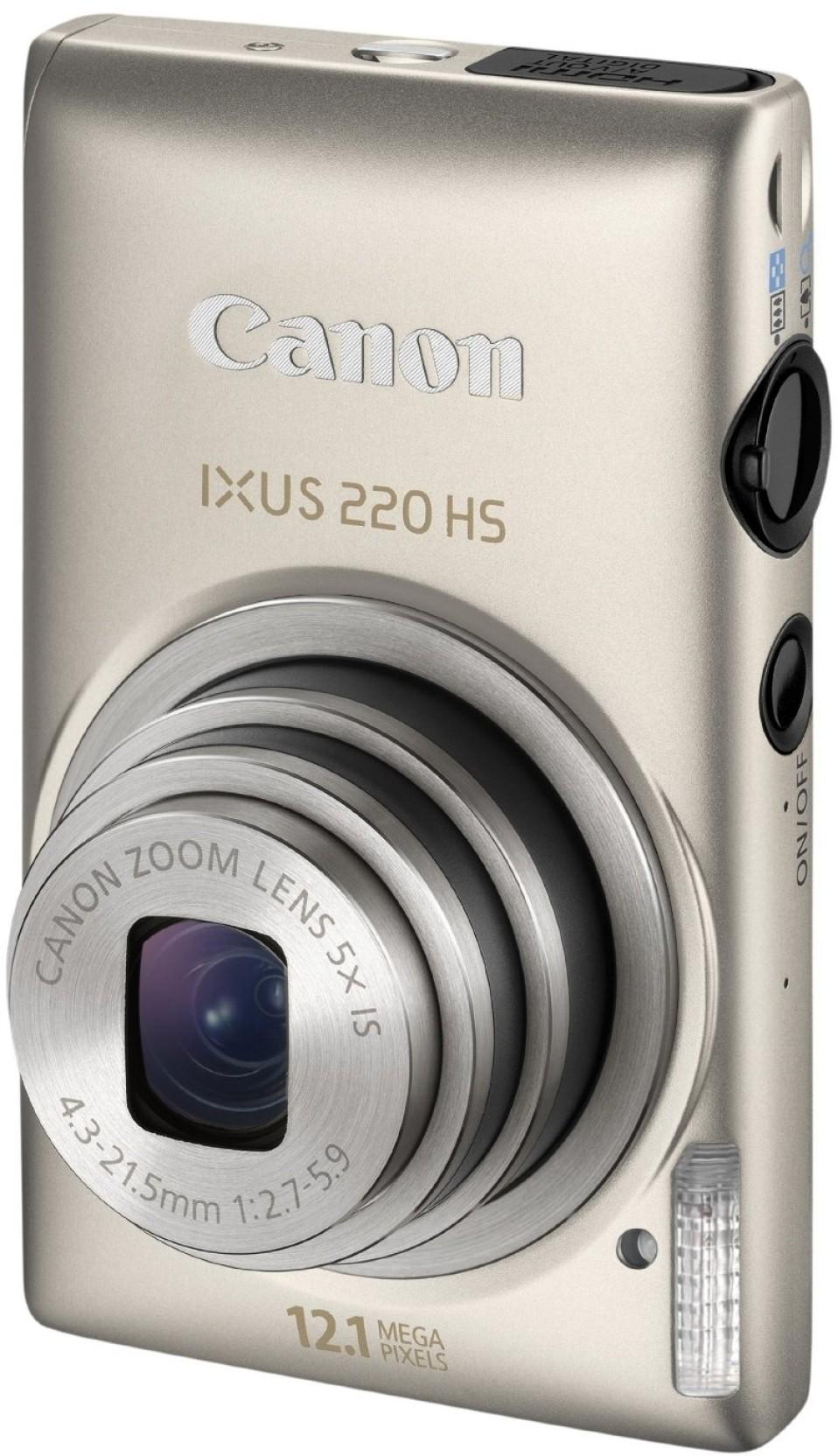 Canon IXUS 220 HS Point & Shoot Camera. Compare
