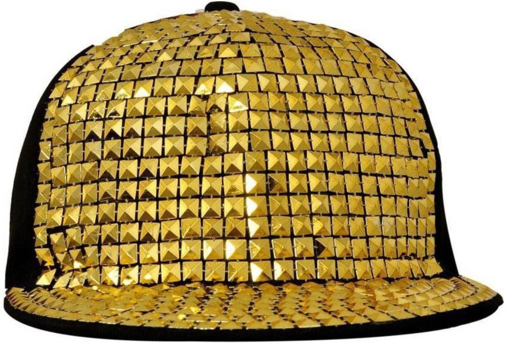 4bebe97e758 Saifpro Self Design Snapback Acrylic Gold Hiphop Cap - Buy Saifpro ...