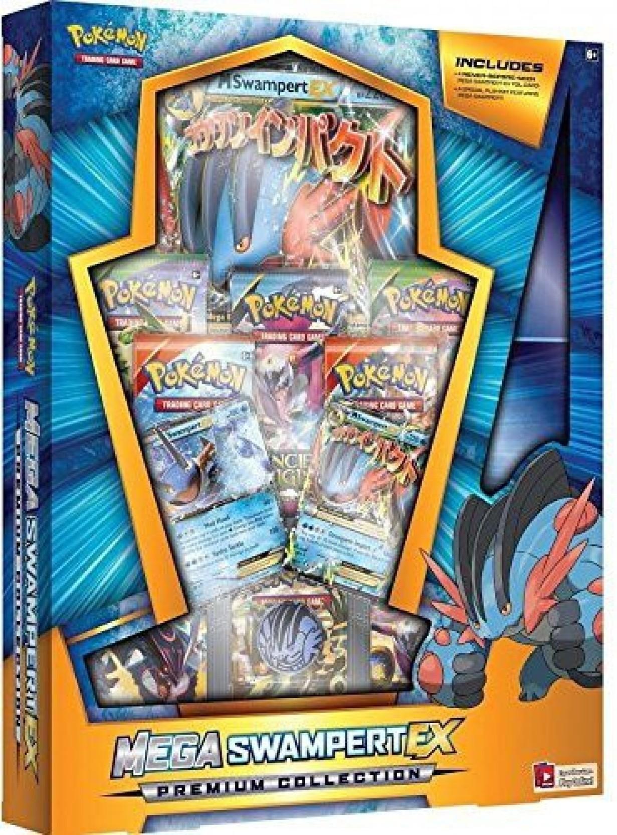 Pokemon Mega Salamence EX Legendary Premium Collection Box Sealed