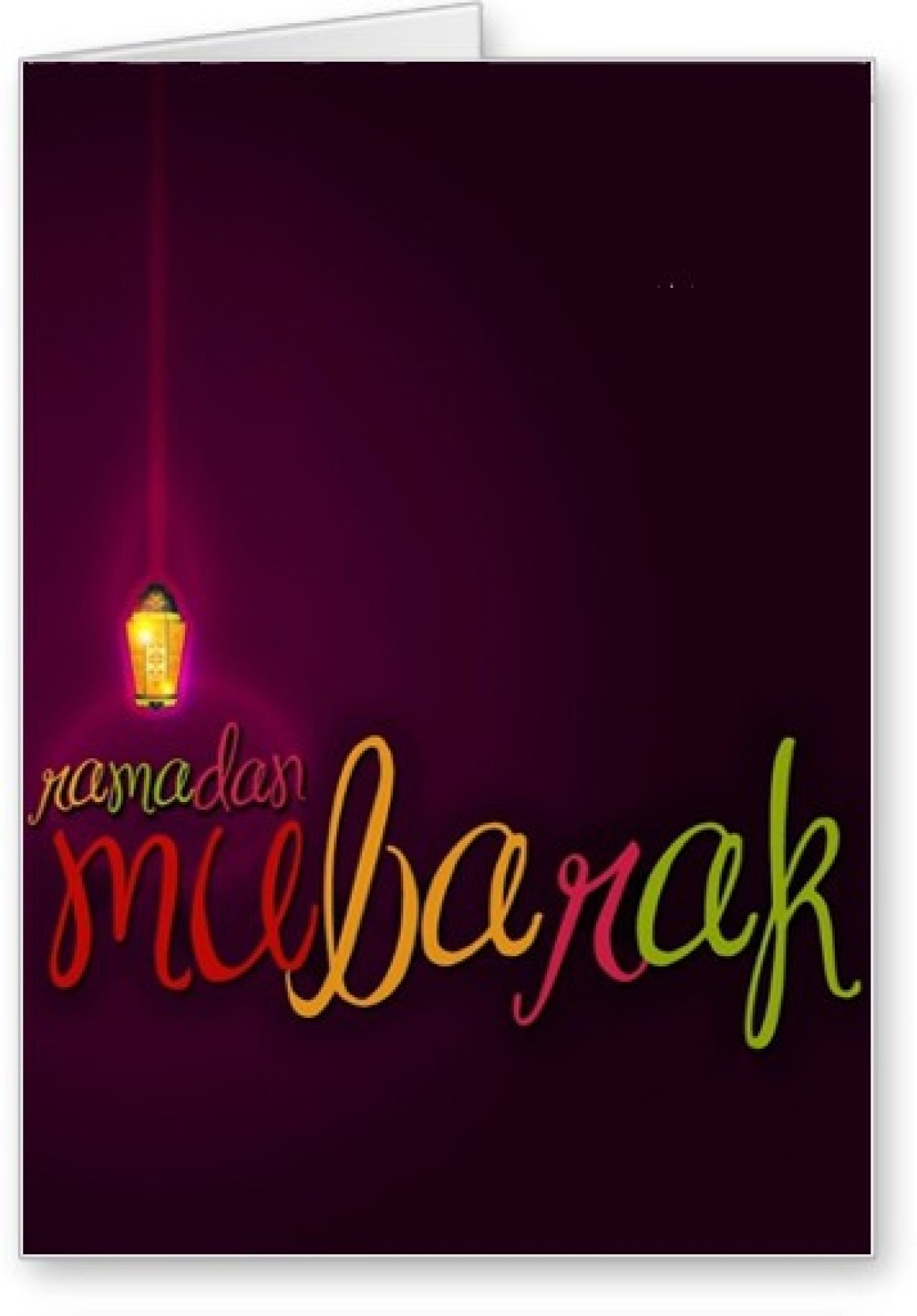 Lolprint Ramadan Mubarak Greeting Card Price In India Buy Lolprint