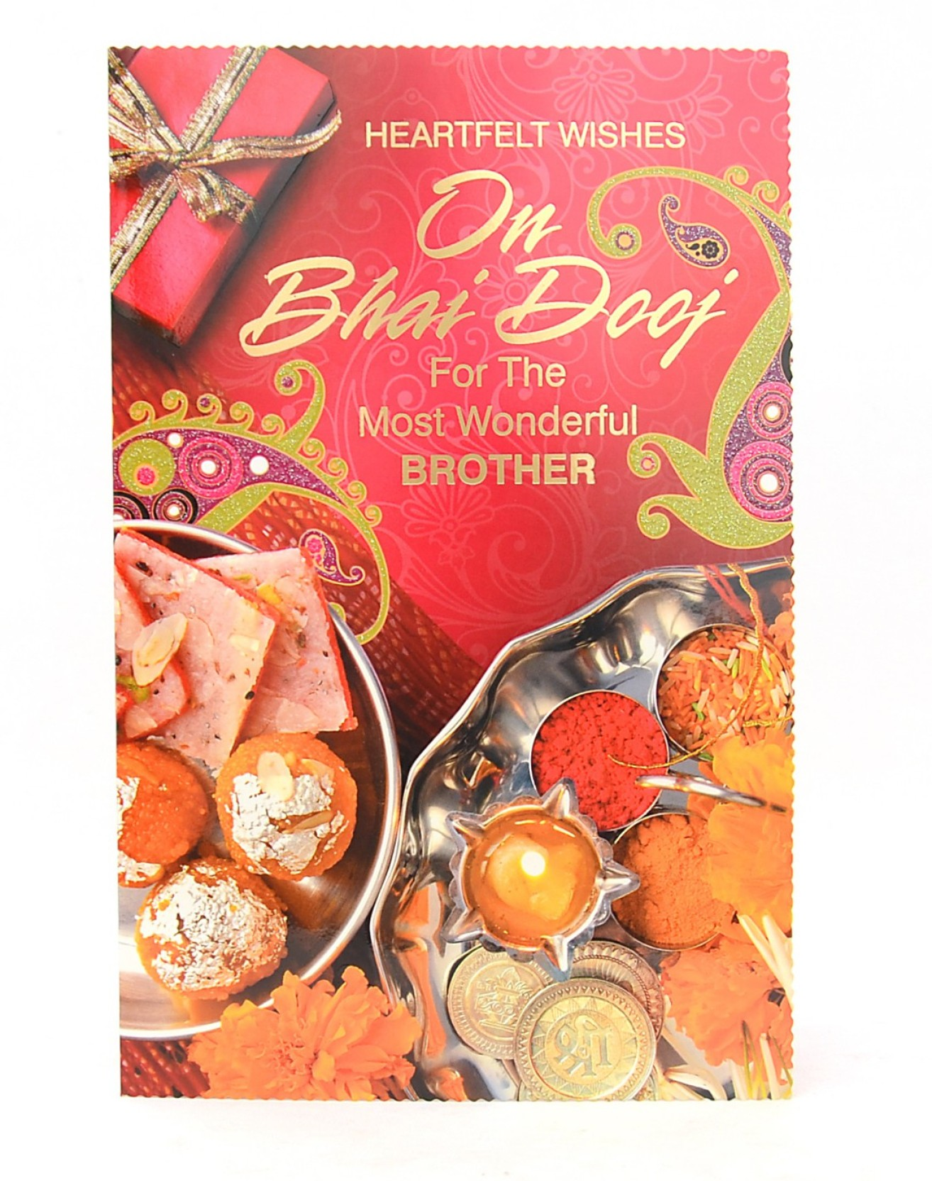 Reliable Heart Melting Bhai Dooj Greeting Card Price In India Buy