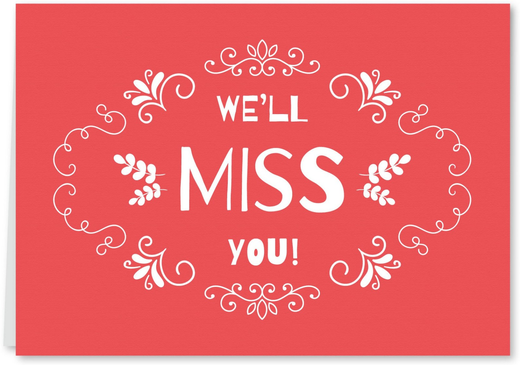 Flutterpost Farewell Cute Curly Greeting Card Price In India