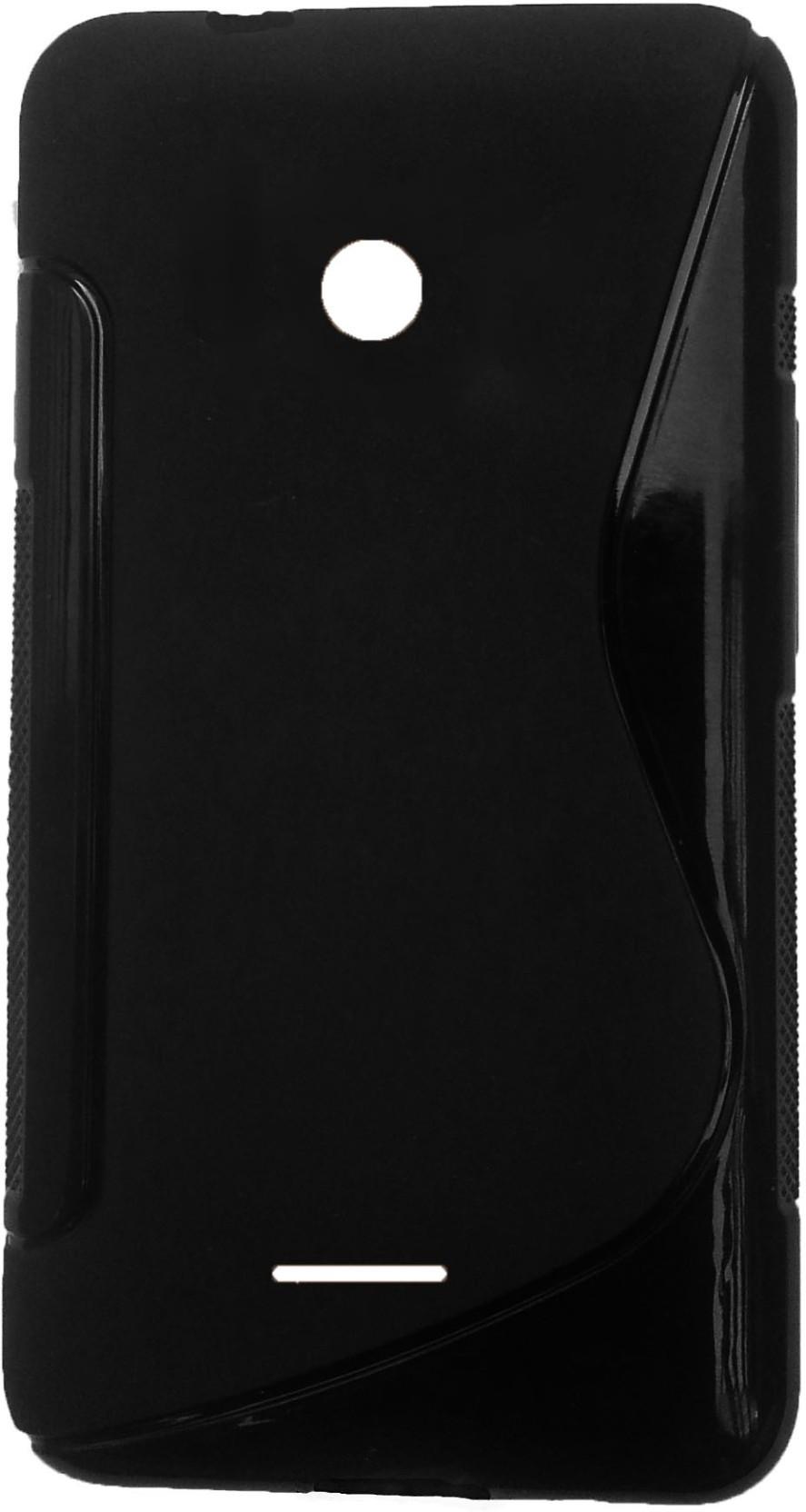 Book Cover Black Flipkart : Accezory back cover for microsoft lumia