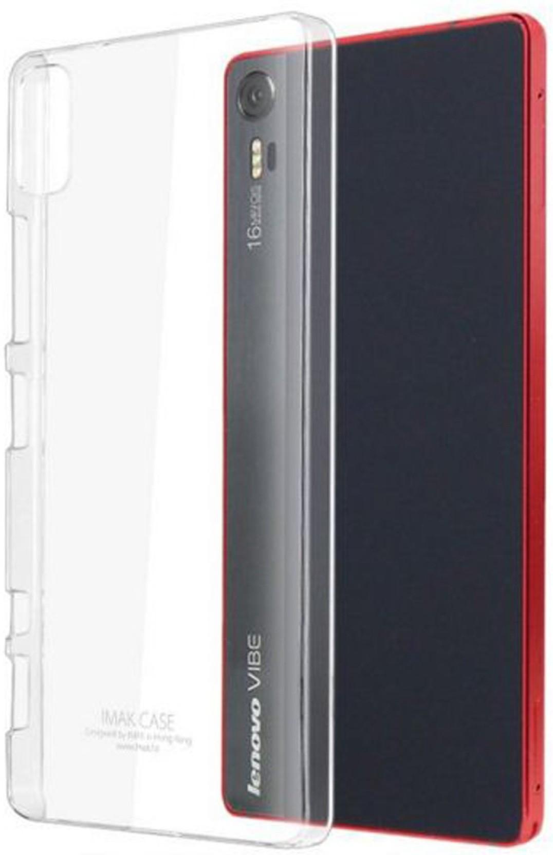 Imak Back Cover For Lenovo Vibe Shot Grey Smartphone Share