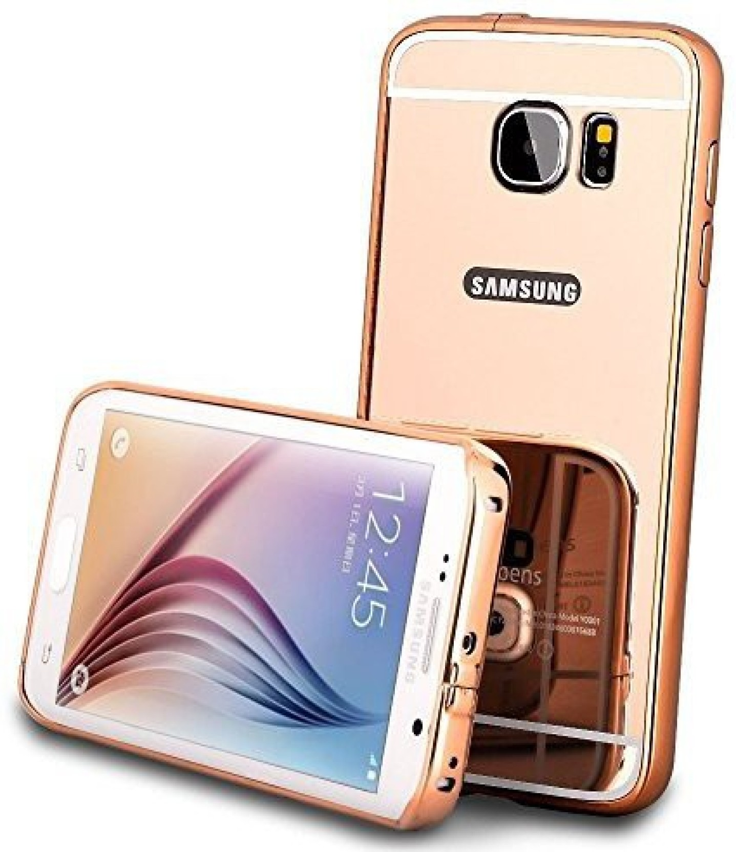 Hutz Bumper Case For Samsung Galaxy C9 Pro With Mirror Back Alumunium Asus Zenfone 2 55 Share