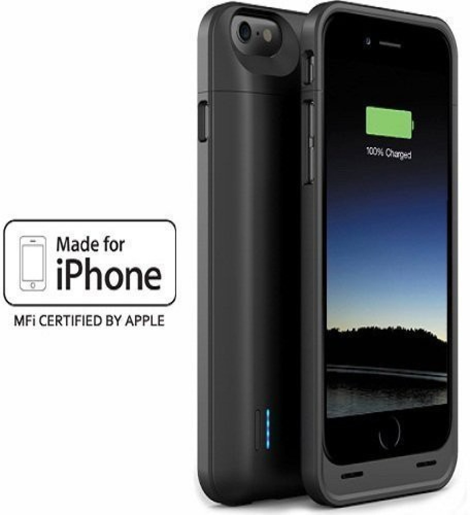 Zaap Back Cover For Iphone 6 6s Power Case Juice Pack Plus Powerbank Backcover 5 Share