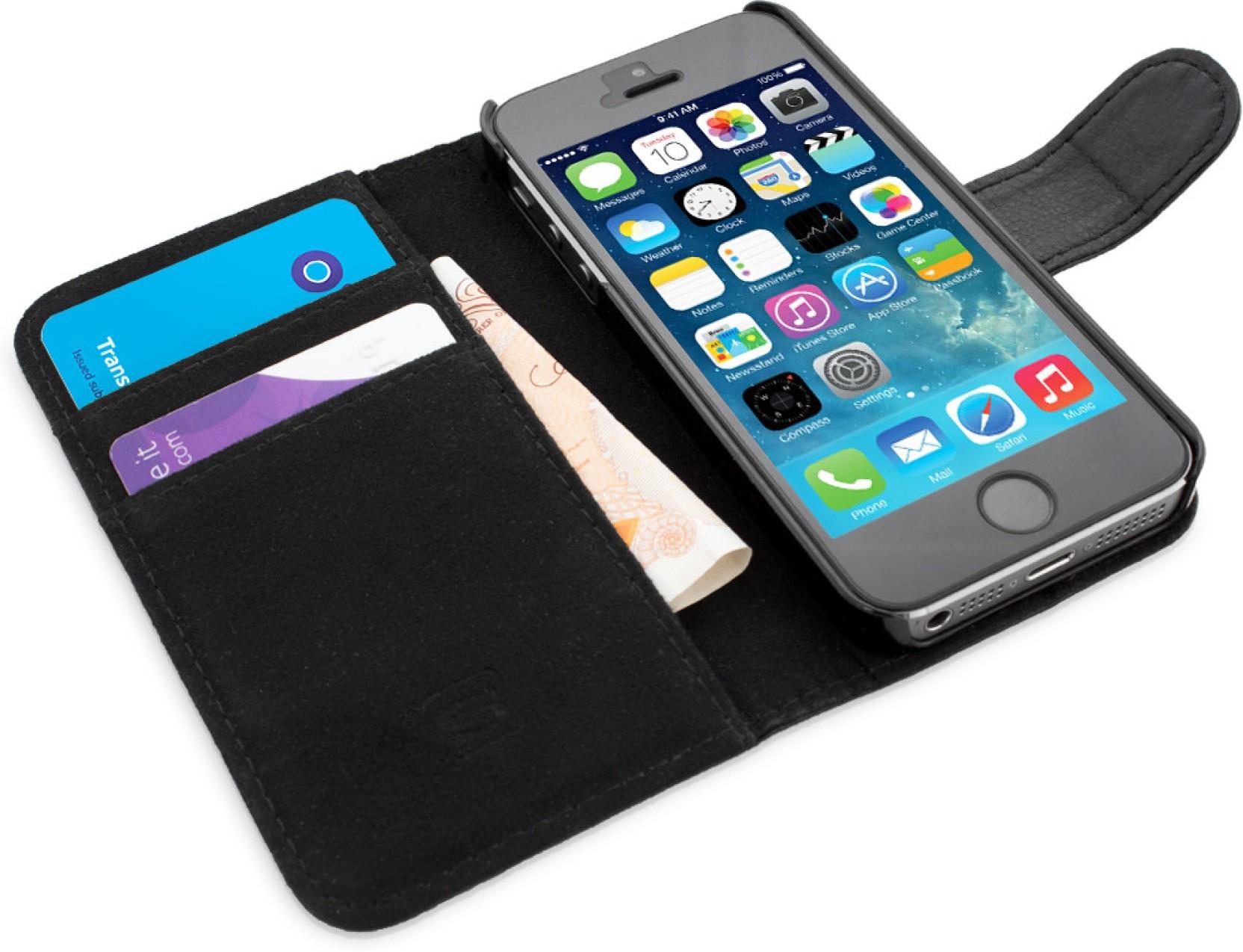 Book Cover Black Flipkart : Snugg india flip cover for iphone s se