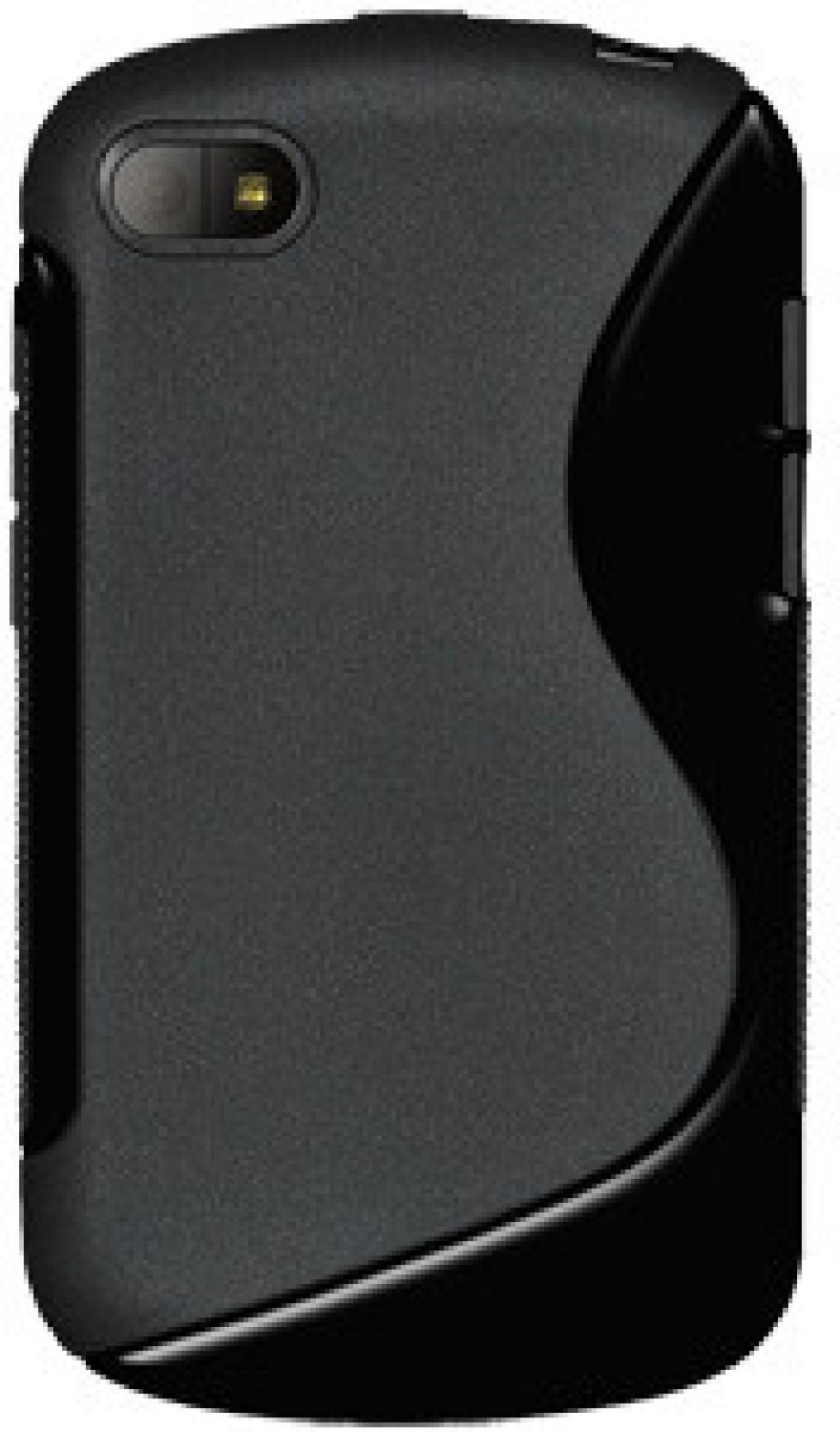 Amzer Back Cover For Blackberry Q10 Black Home
