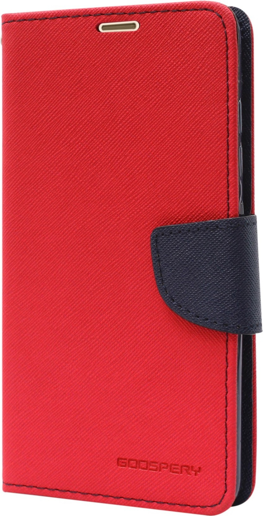 Goospery Wallet Case Cover For Mi Redmi Note 3 Xiaomi 2 Canvas Diary Red Home