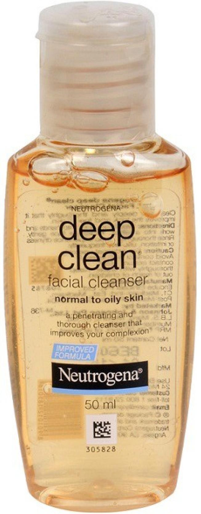 Neutrogena Deep Clean Facial Cleanser Price In India Buy Original Add To Cart