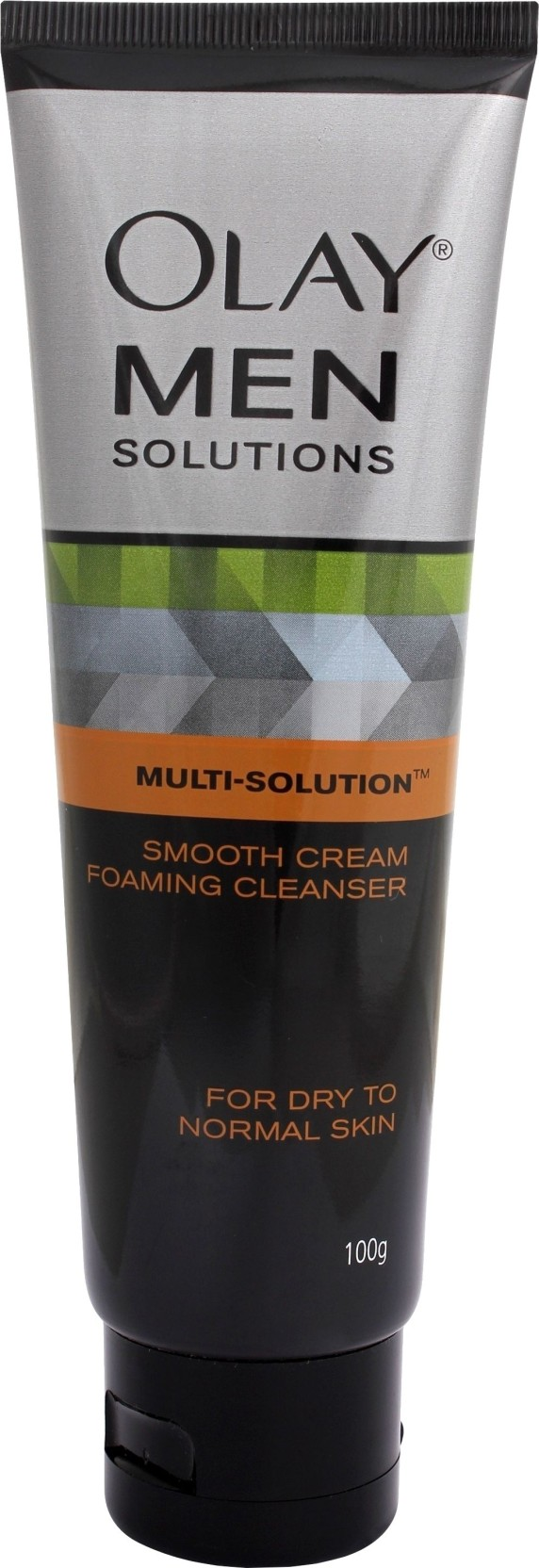 Olay Men Solutions Smooth Cream Foaming Cleanser Price In India Revitalising Cleansing Share