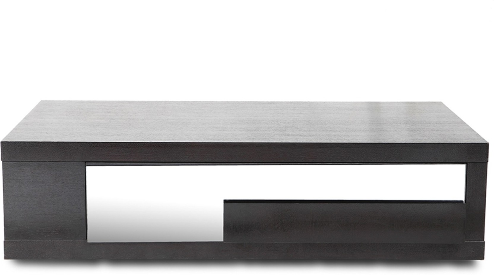 Hometown alfe center engineered wood coffee table finish color wenge