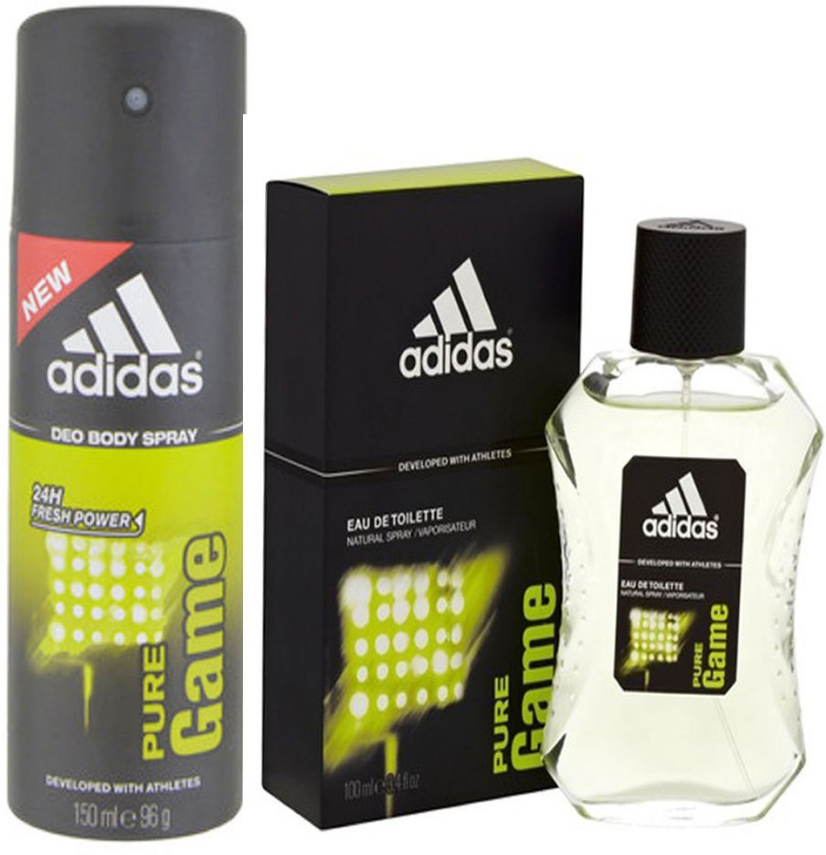 Adidas Pure Game Combo Set Buy Online At Parfum Original Get Ready On Offer