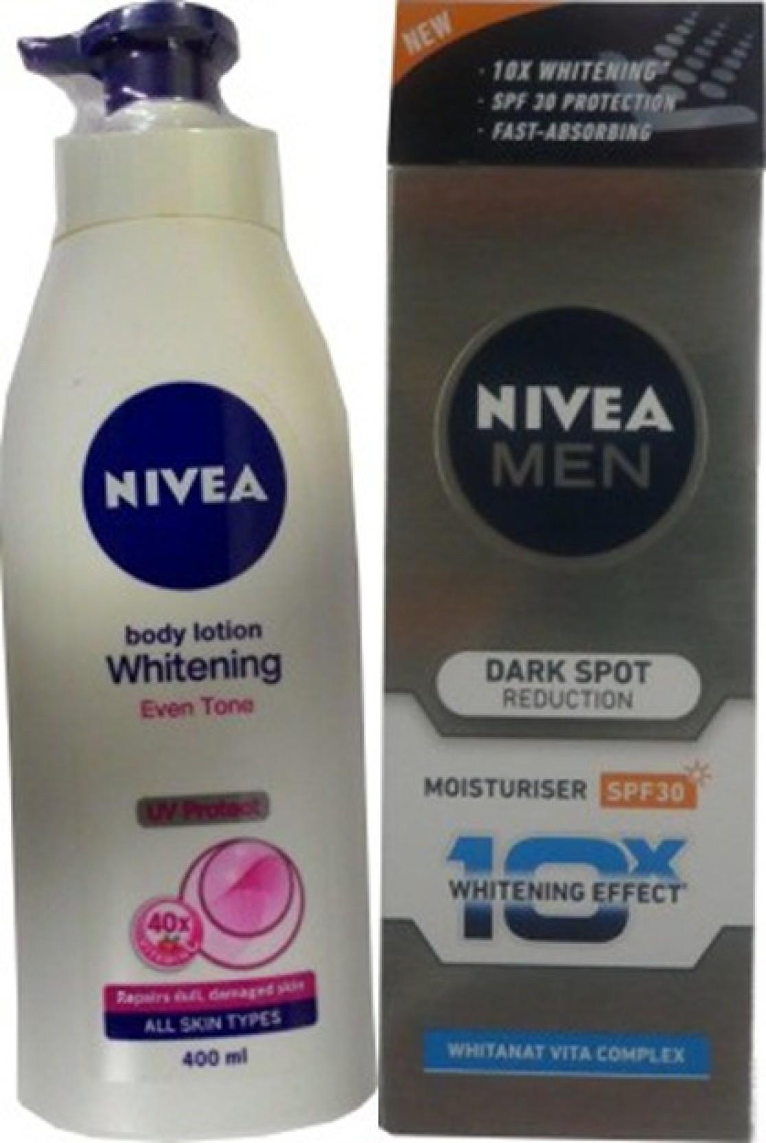 Nivea Whitening Cell Repair Uv Protect Body Lotion Dark Spot Extra White Firm Smooth 200ml Reduction Moisturiser Spf Share