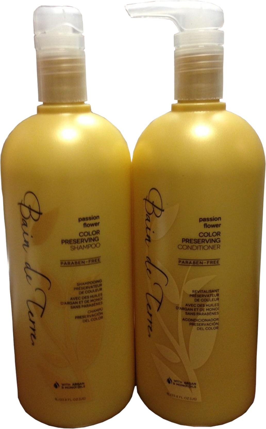 Bain De Terre Passion Flower Color Preserving Shampoo And