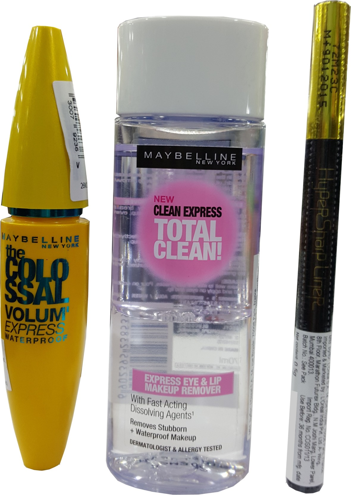 Maybelline Combo Price In India Buy Online At Eye Lip Makeup Remover 70 Ml Share