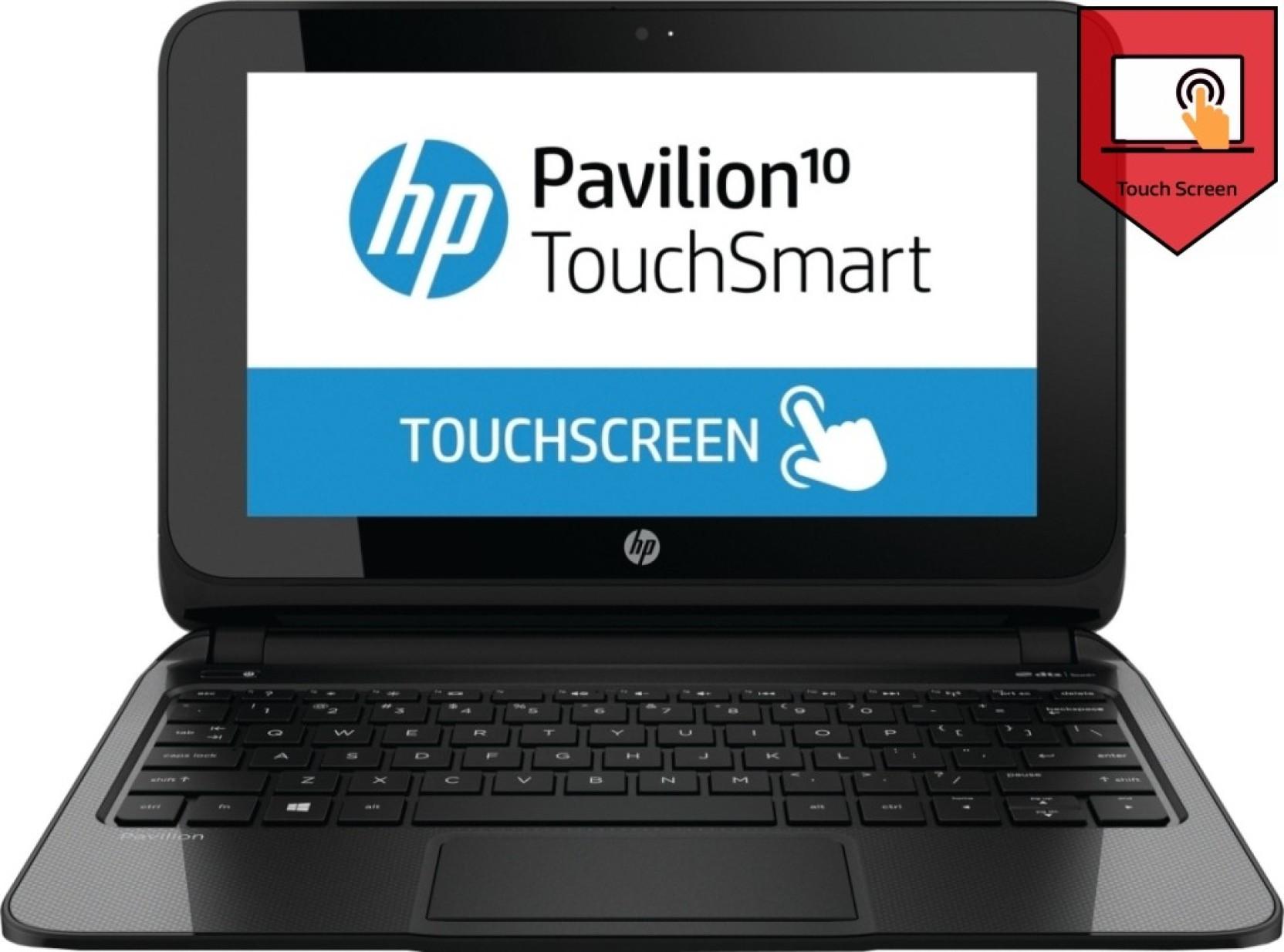 ... hp laptops hp pavilion touchsmart 10 e007au netbook apu dual core a4