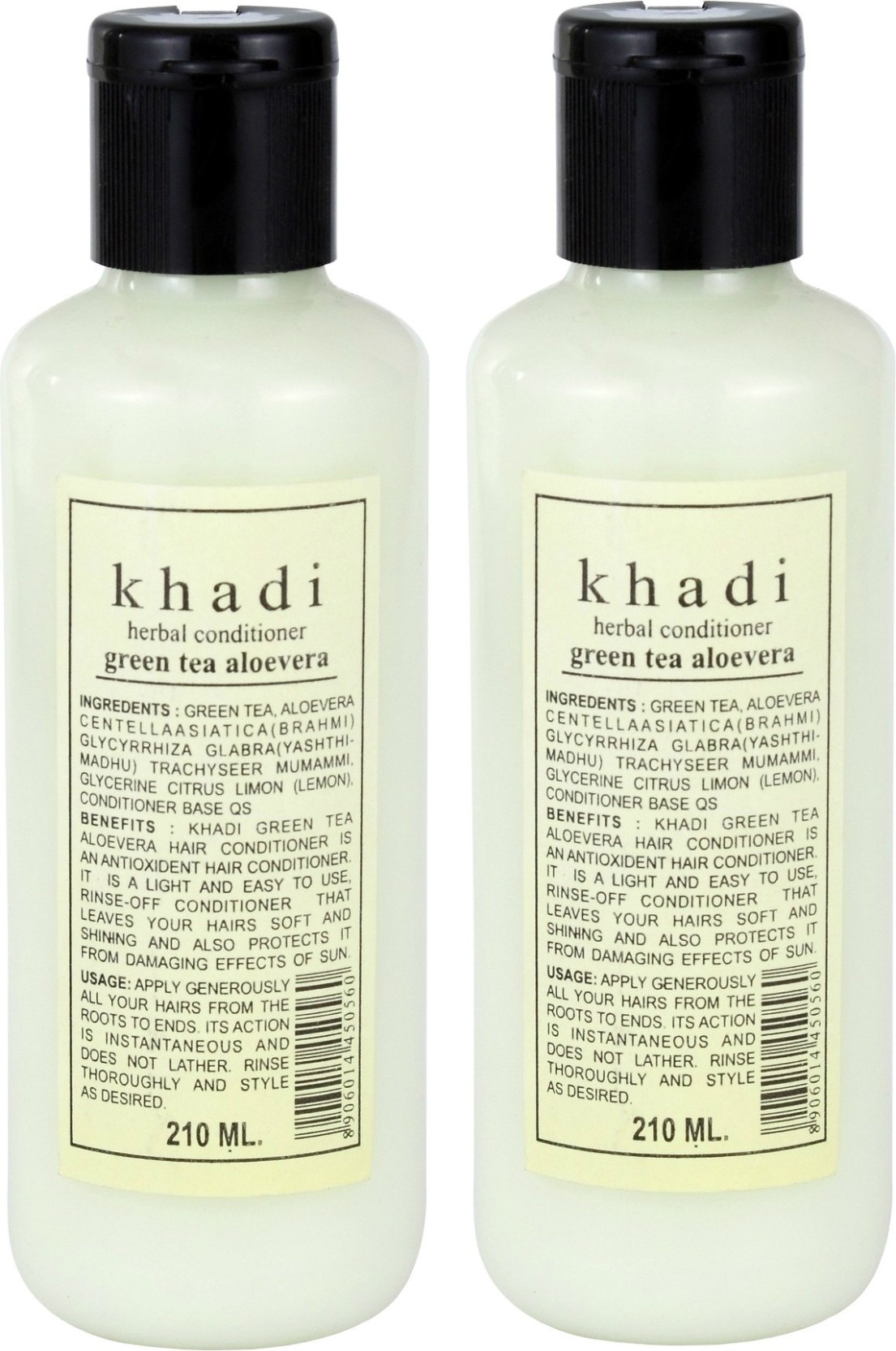 Khadi Natural Green Tea Aloe Vera Hair Conditioner Pack Of 2 Price 130 Ml Home
