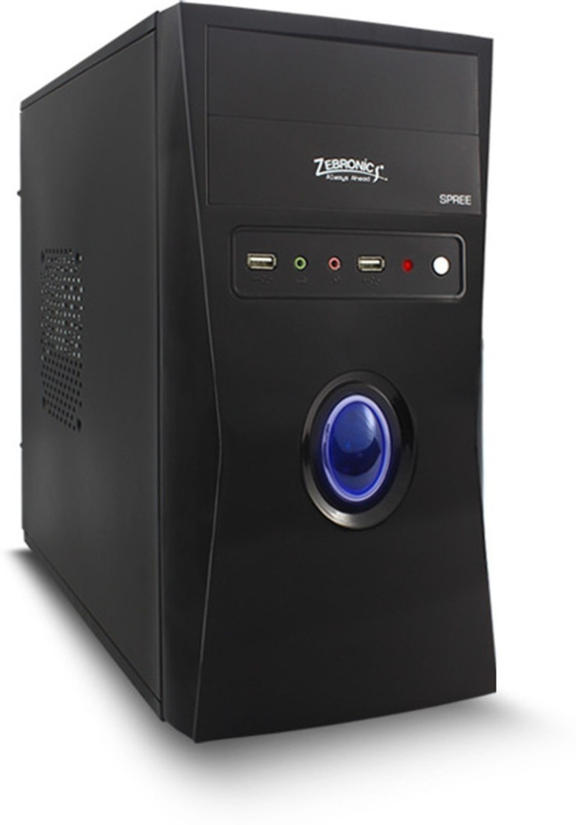 Zebronics Intel Core 2 Duo Desktop Cpu Mini Tower With Prosessor E7500 4 Gb Ram 500 Hard Disk Windows Xp