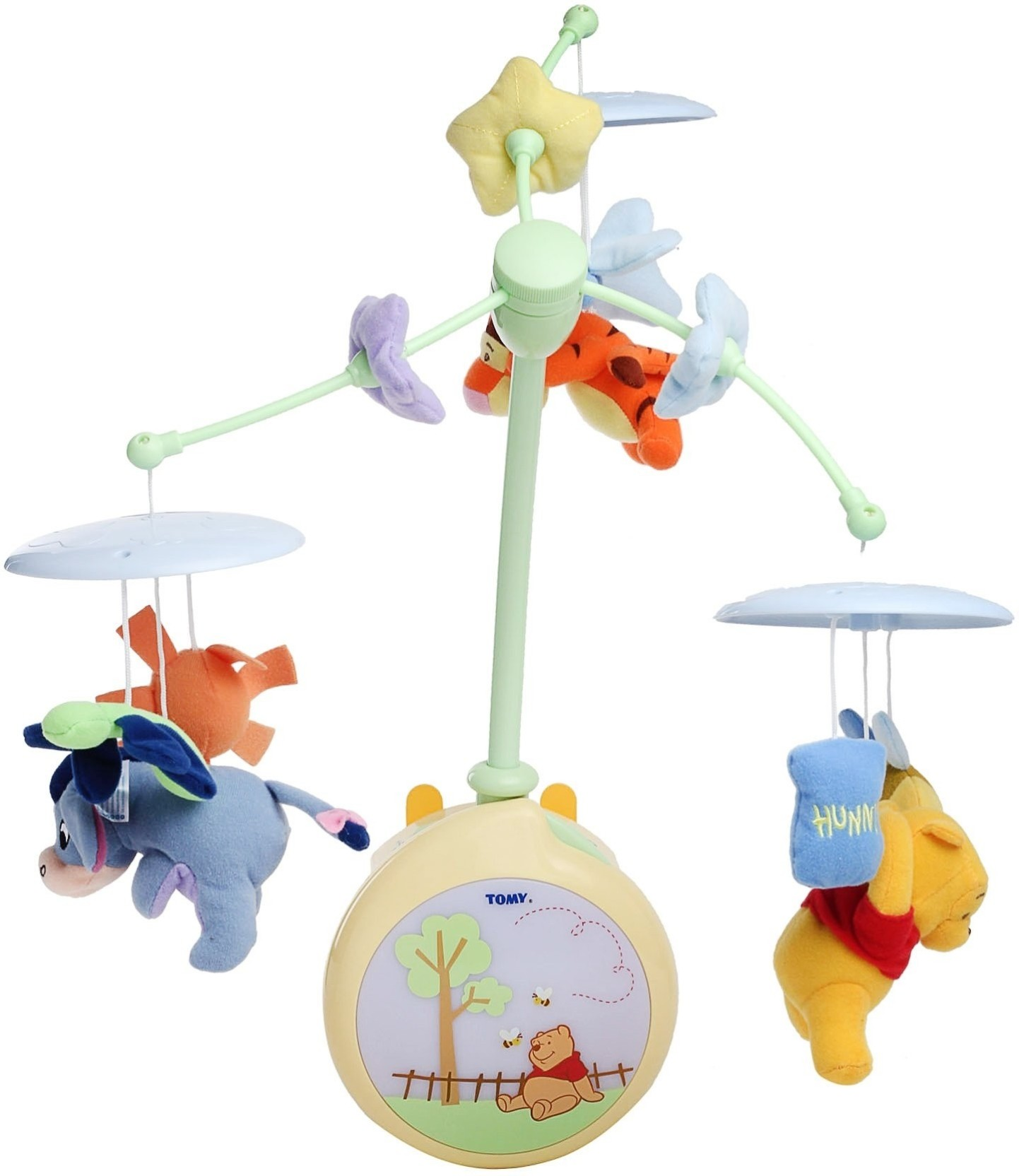 Tomy Winnie The Pooh Light Up Cot Mobile Winnie The Pooh