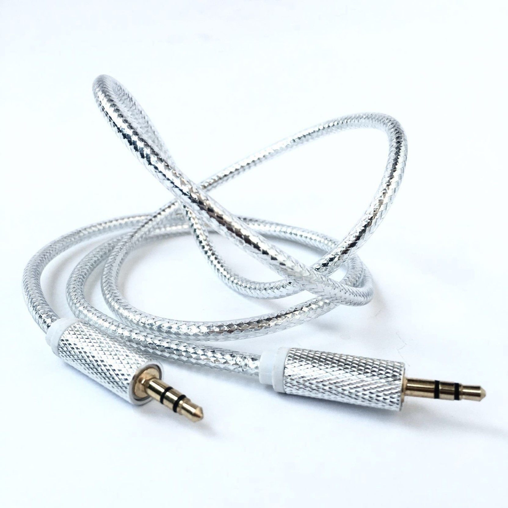 Fit Fly Silver Shine AUX Cable - Fit Fly : Flipkart.com