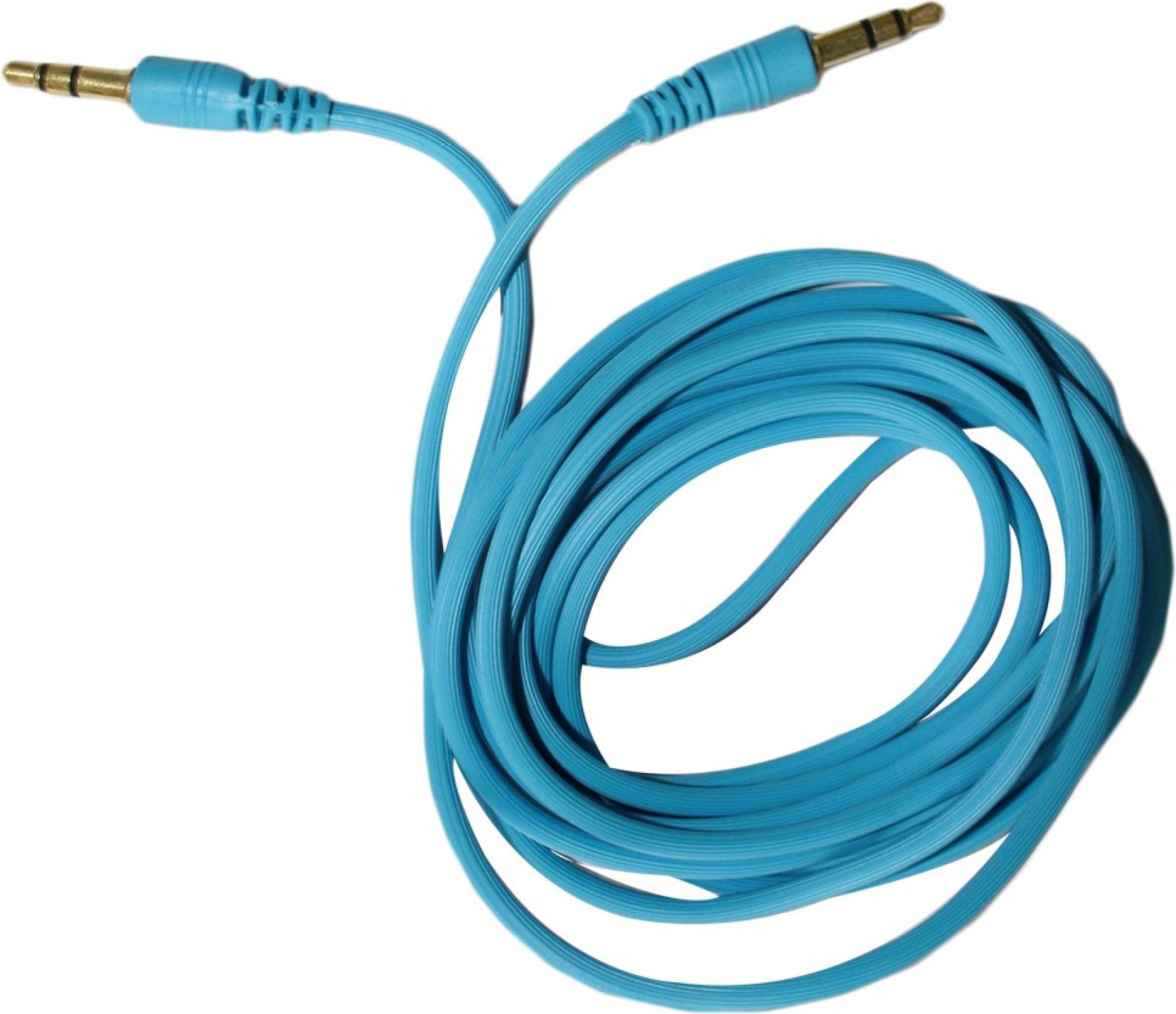 MAK 2m Blue AUX Cable - MAK : Flipkart.com