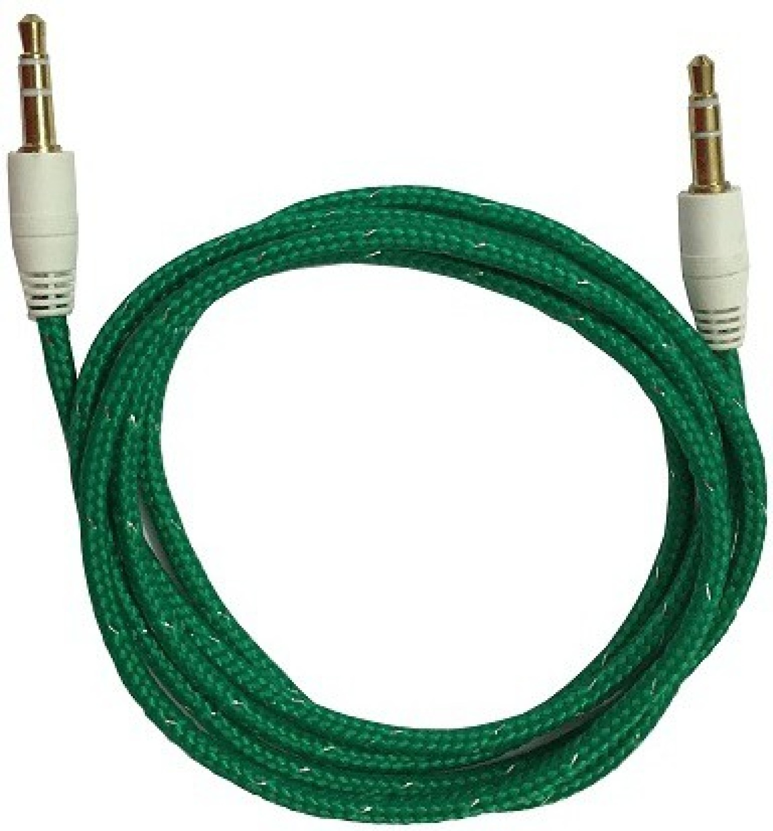 Storite 3.5mm Male To Male Stereo Audio Cable - Cotton wired - (100CM -.  Share