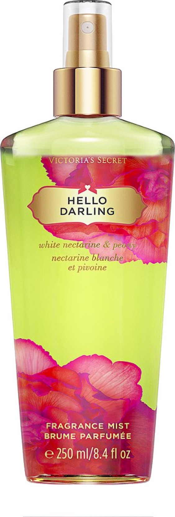 Victorias Secret Hello Darling Fragrance Body Mist For Women Buy 1 Get White Garden Hand Ampamp Lotion Pink Rose 250ml Share