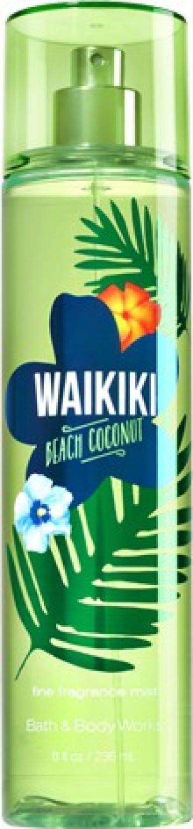 Bath Body Works Waikiki Beach Coconut Body Mist For Men