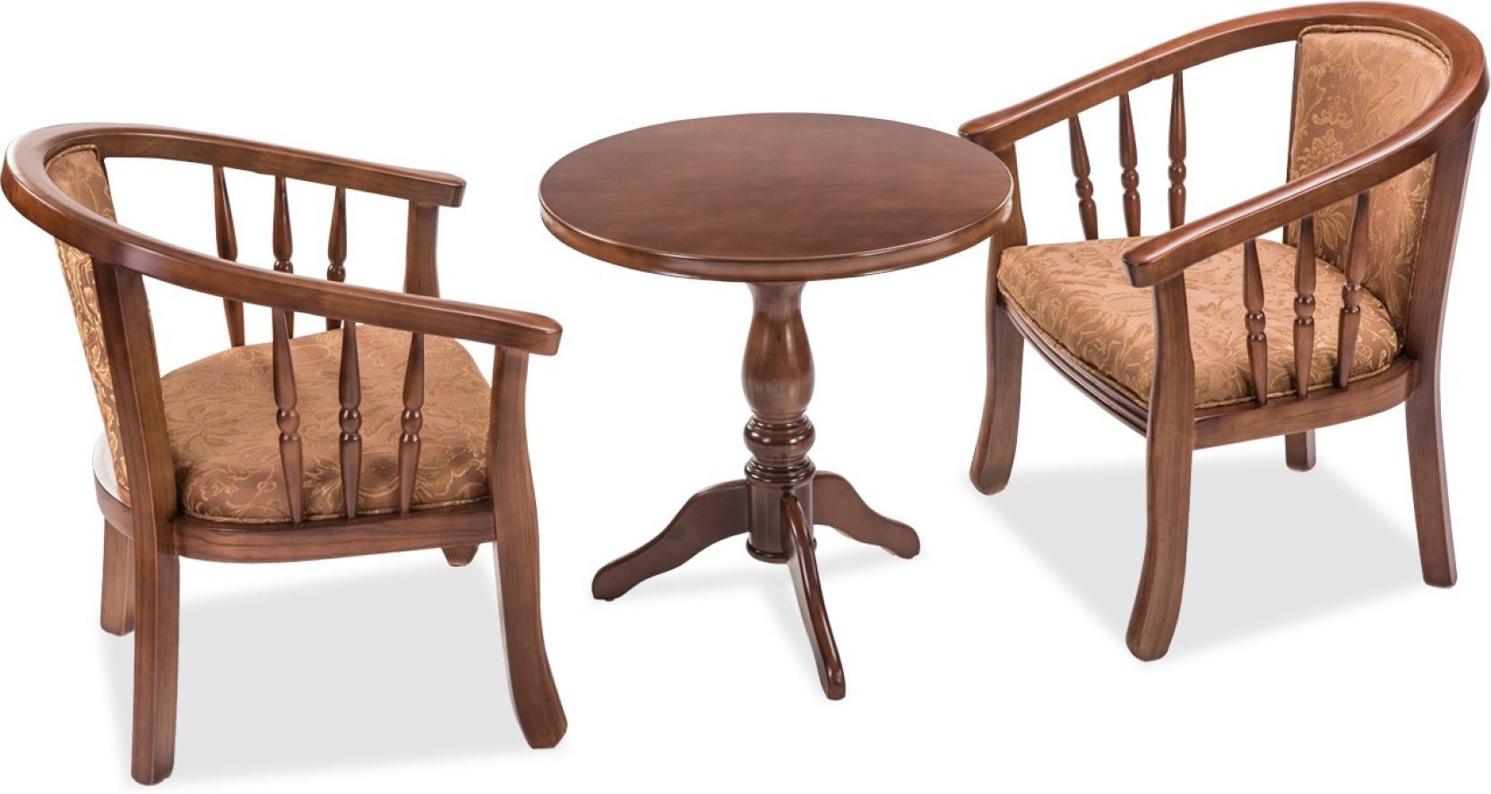 Durian Brighton Engineered Wood 2 Seater Dining Set Price