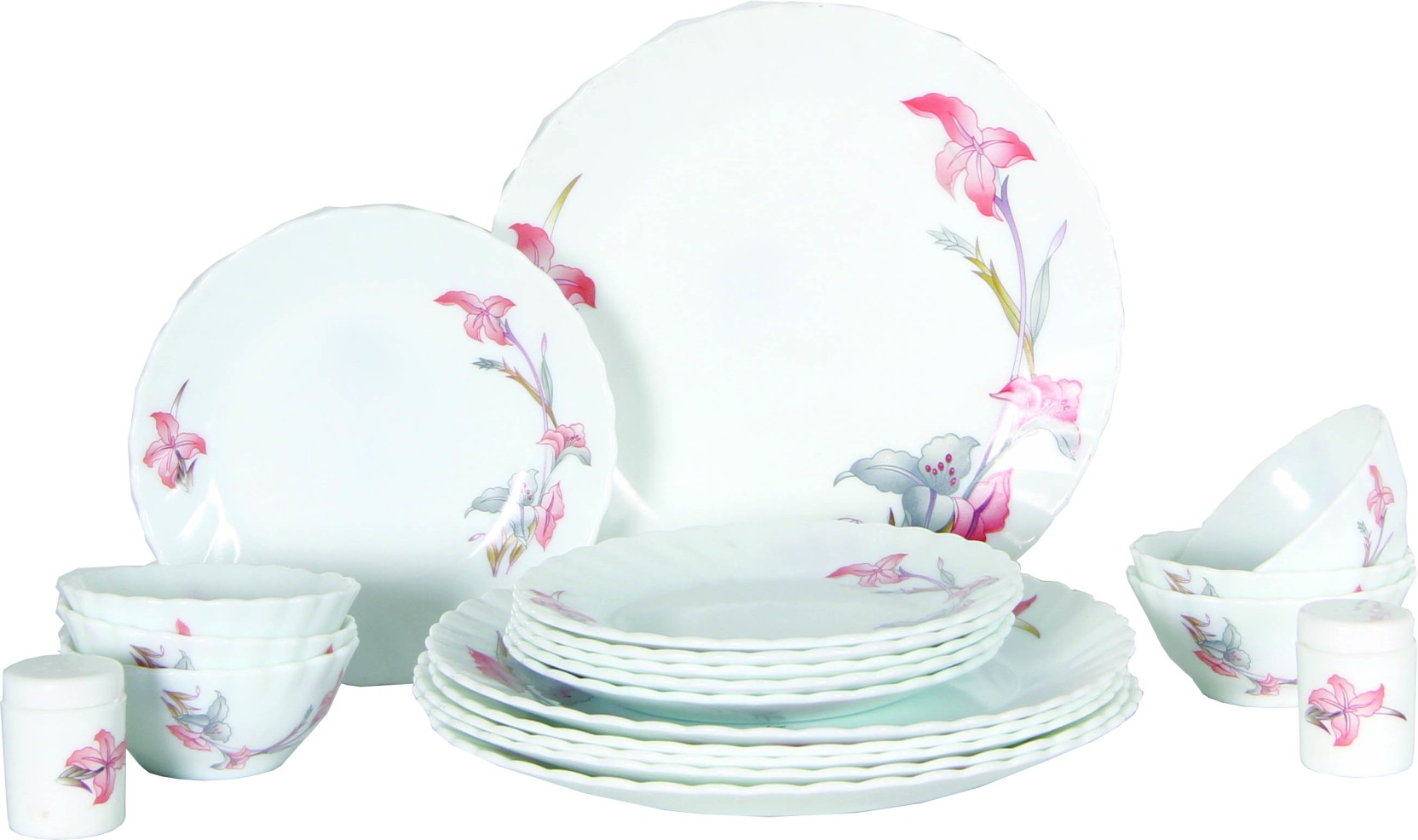 Laopala pack of 20 dinner set price in india buy laopala for Kitchen set on flipkart
