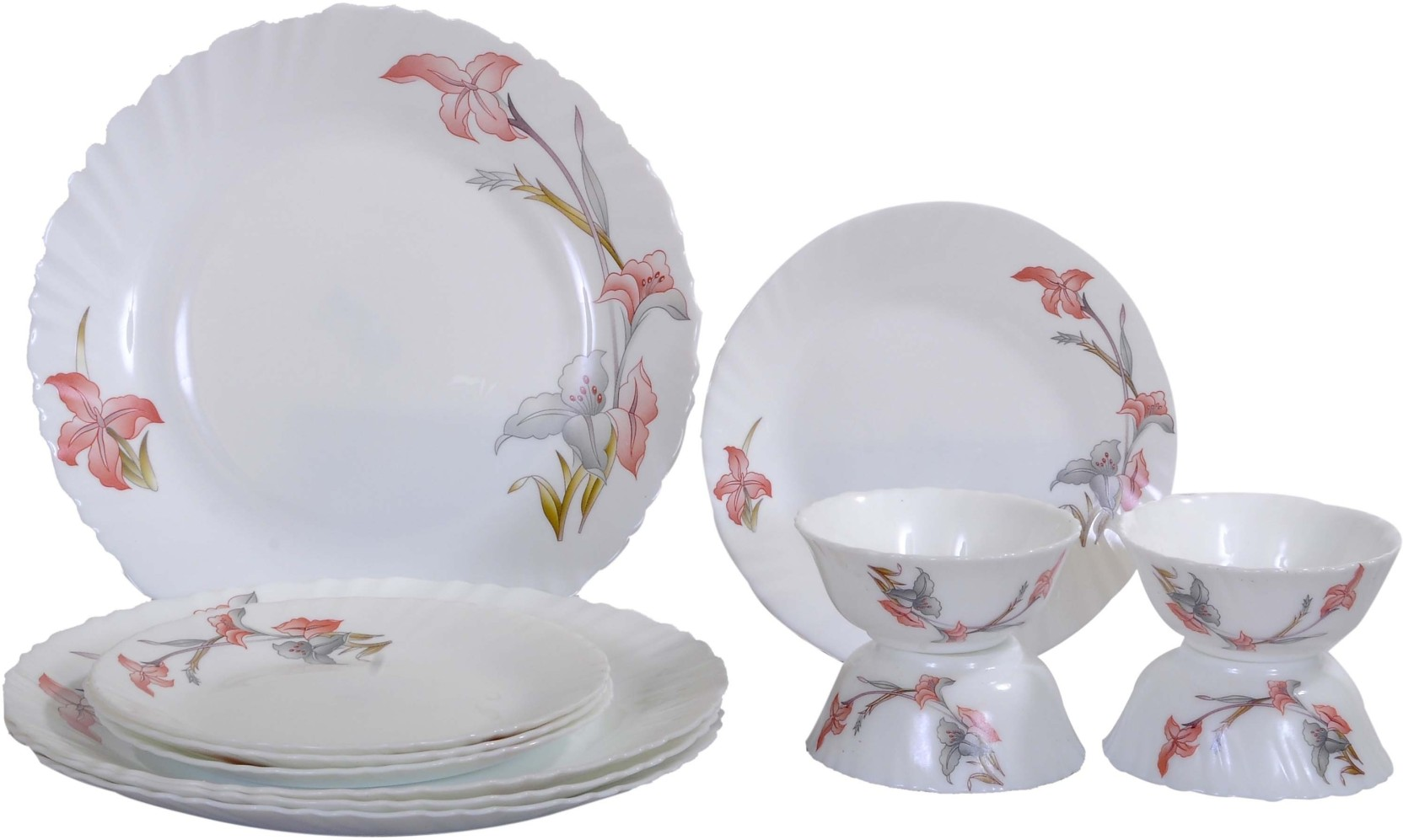 Laopala Pack Of 12 Dinner Set Price In India Buy Laopala