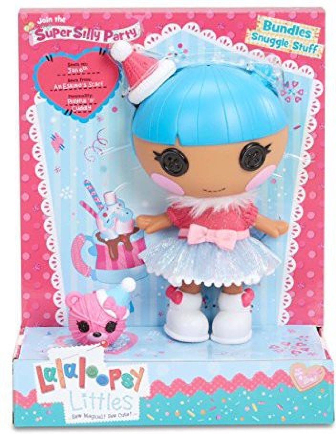 Lalaloopsy Littles Super Silly Party Doll- Bundles Snuggle Stuff ...