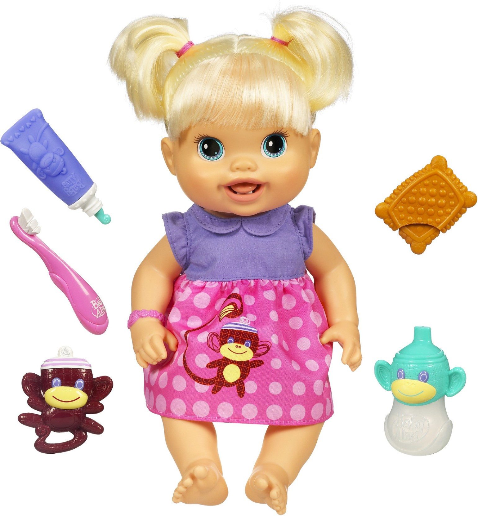 Baby Alive Doll Toy Review Of The Baby's New Teeth Toy ...  |Baby Alive New Teeth