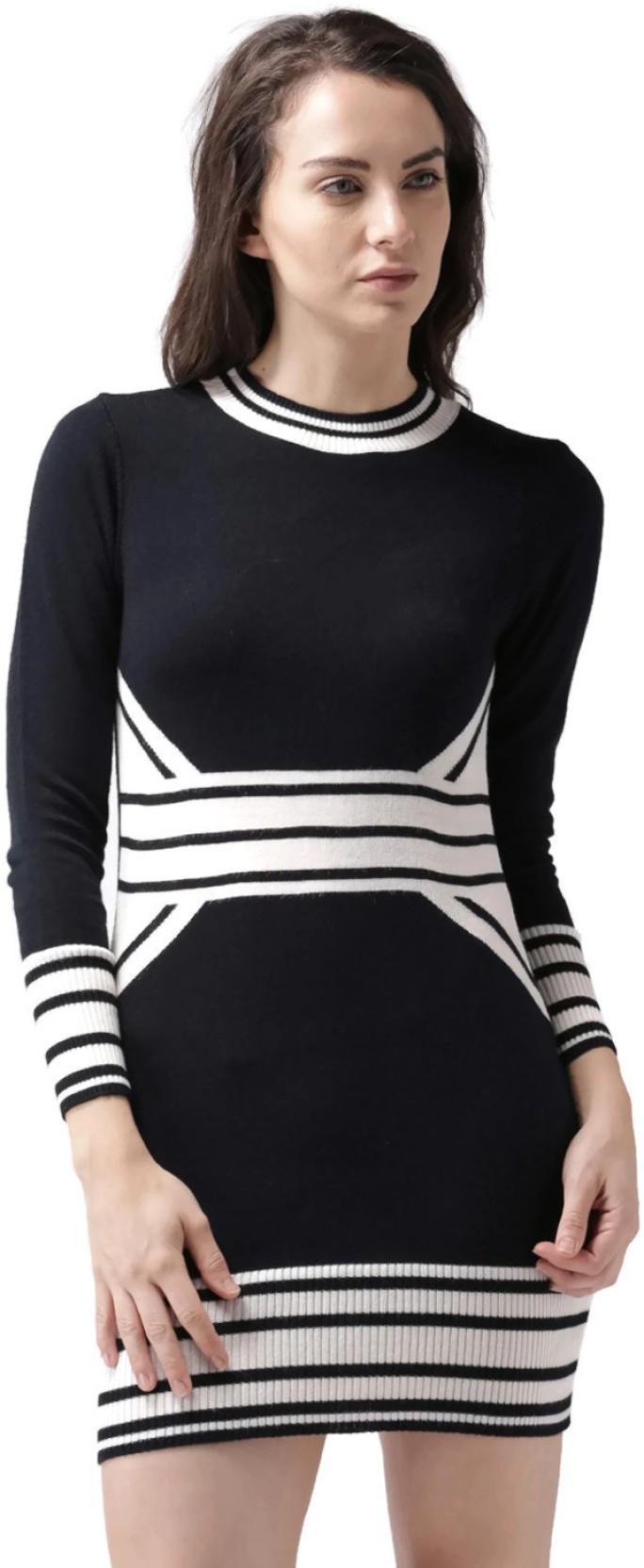 fc61a6e2fafa Mast & Harbour Women's A-line Dark Blue, White Dress. ADD TO CART. BUY NOW