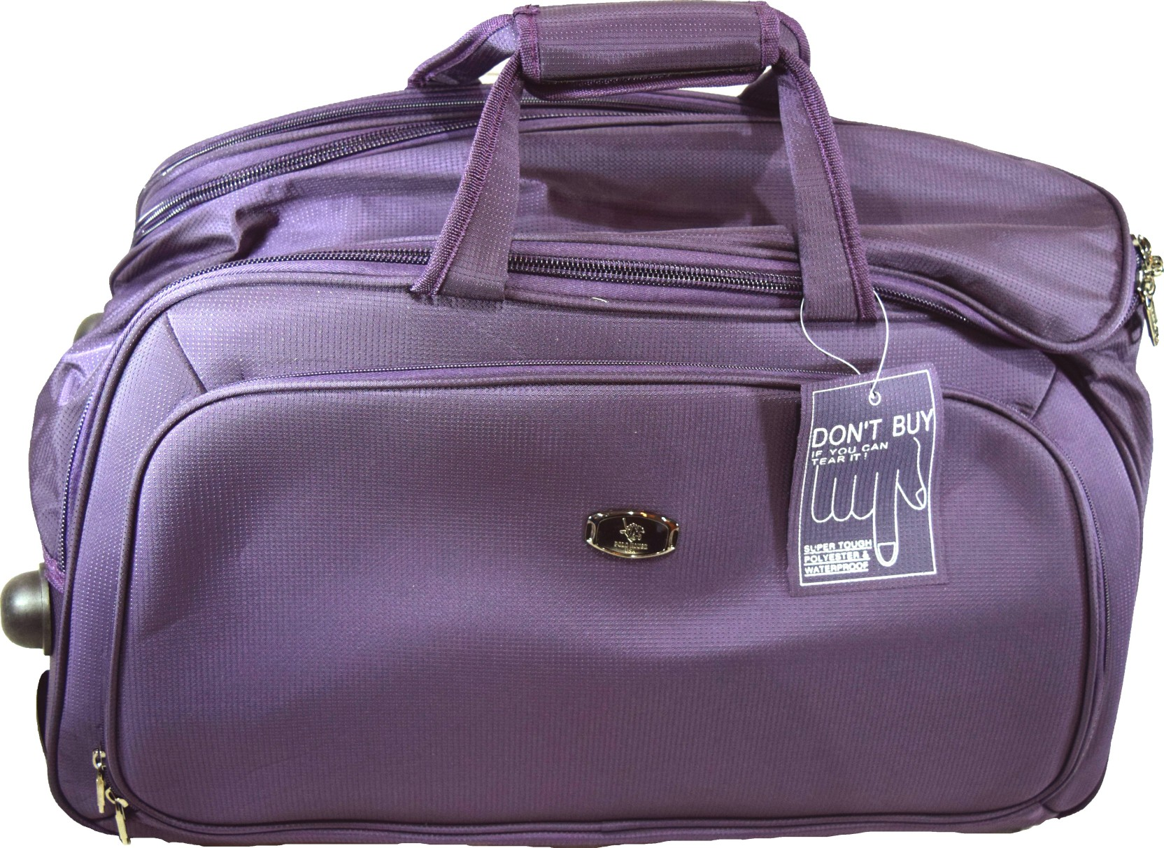 49d9eca69819 Polo House USA 24 inch 60 cm 9002ds Travel Duffel Bag Purple - Price ...