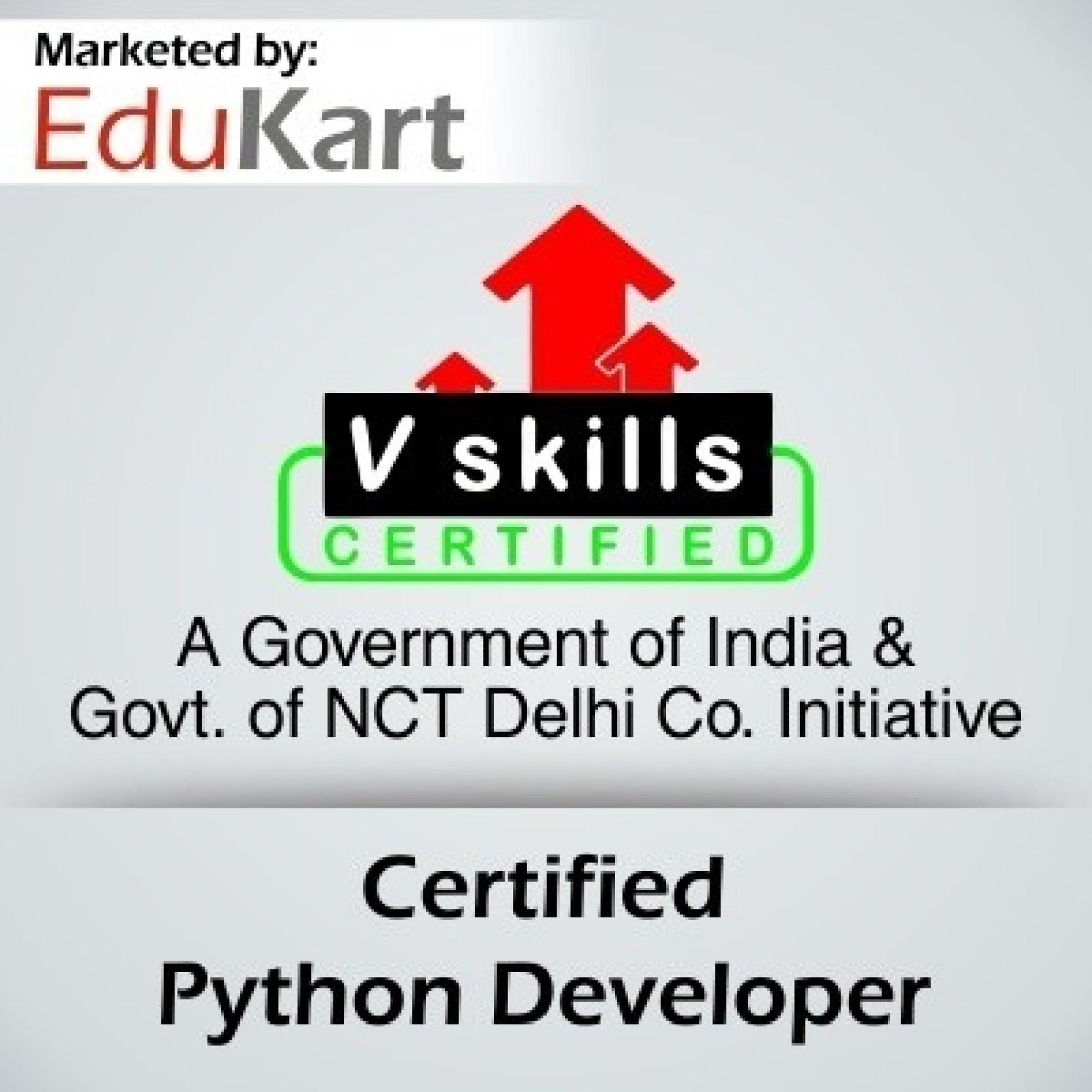 Vskills certified python developer v skills certified vskills certified python developer v skills certified certification course share 1betcityfo Choice Image