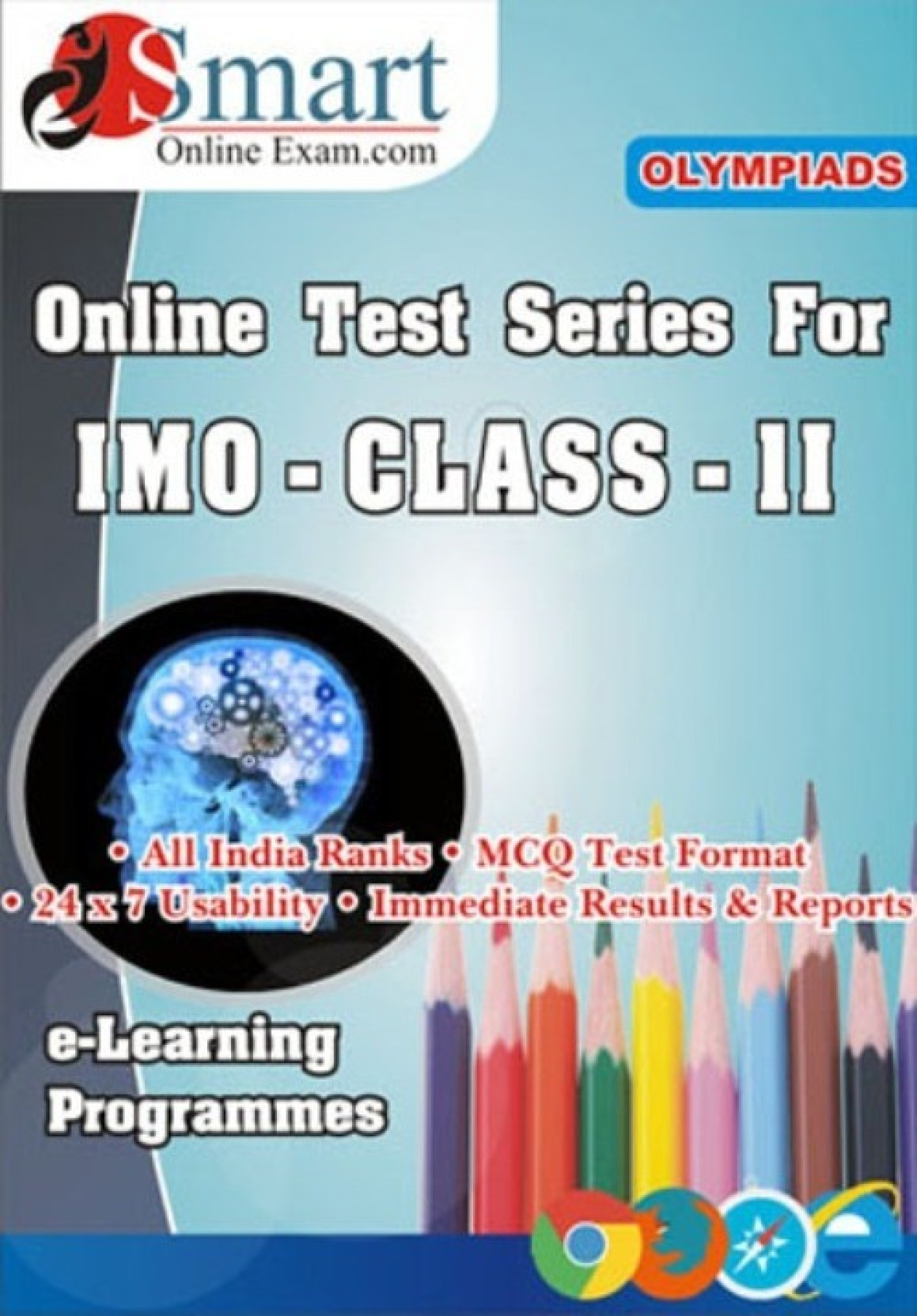 Smart Online Exam IMO Class - 2 English Online Test Price in