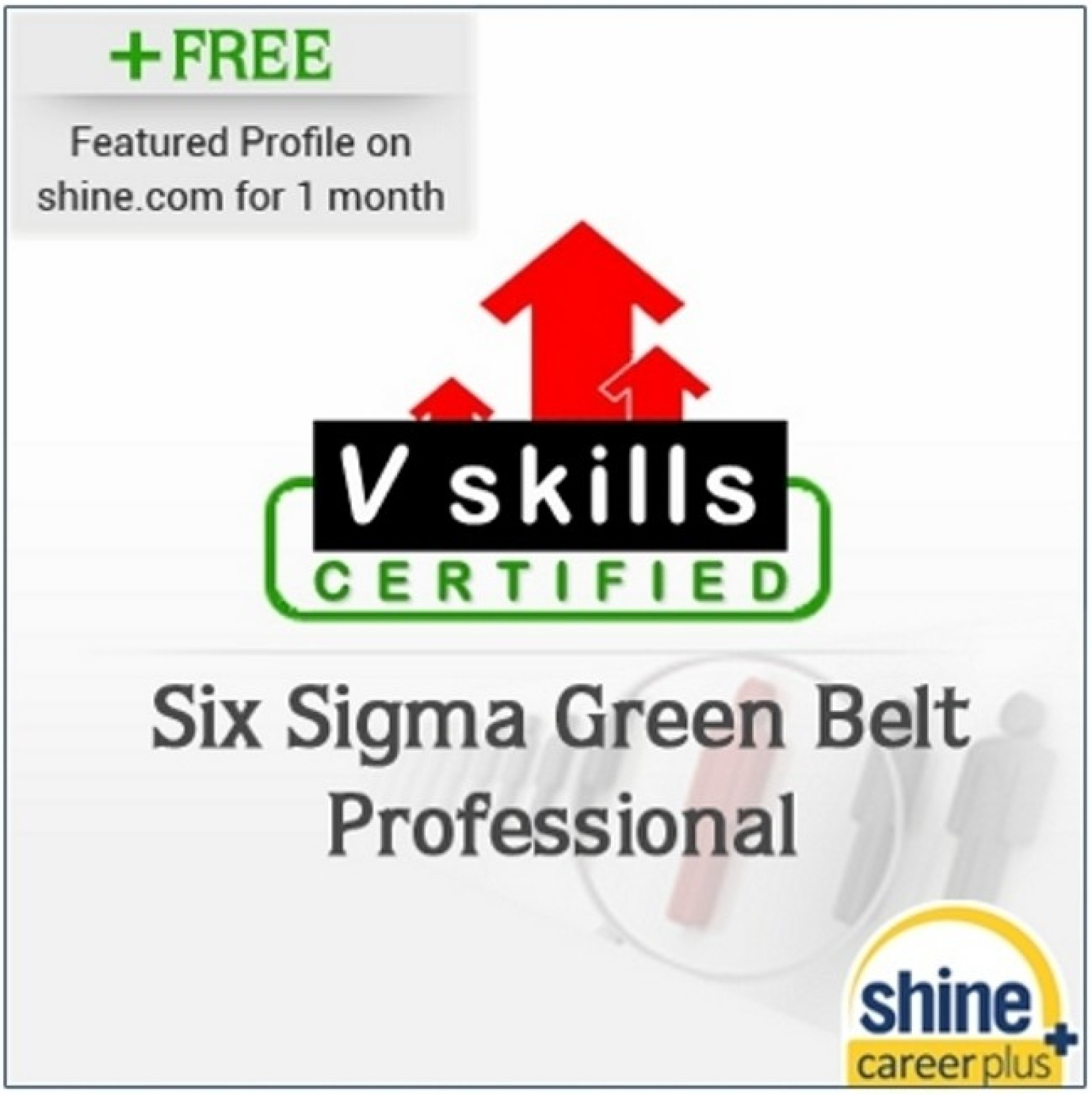 Careerplus v skills certified six sigma green belt professional six sigma green belt professional certification course wishlist xflitez Choice Image