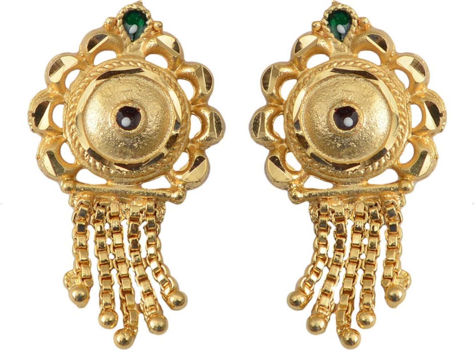 522158e44 Flipkart.com - Buy Taj Pearl Designer Alloy Stud Earring Online at ...