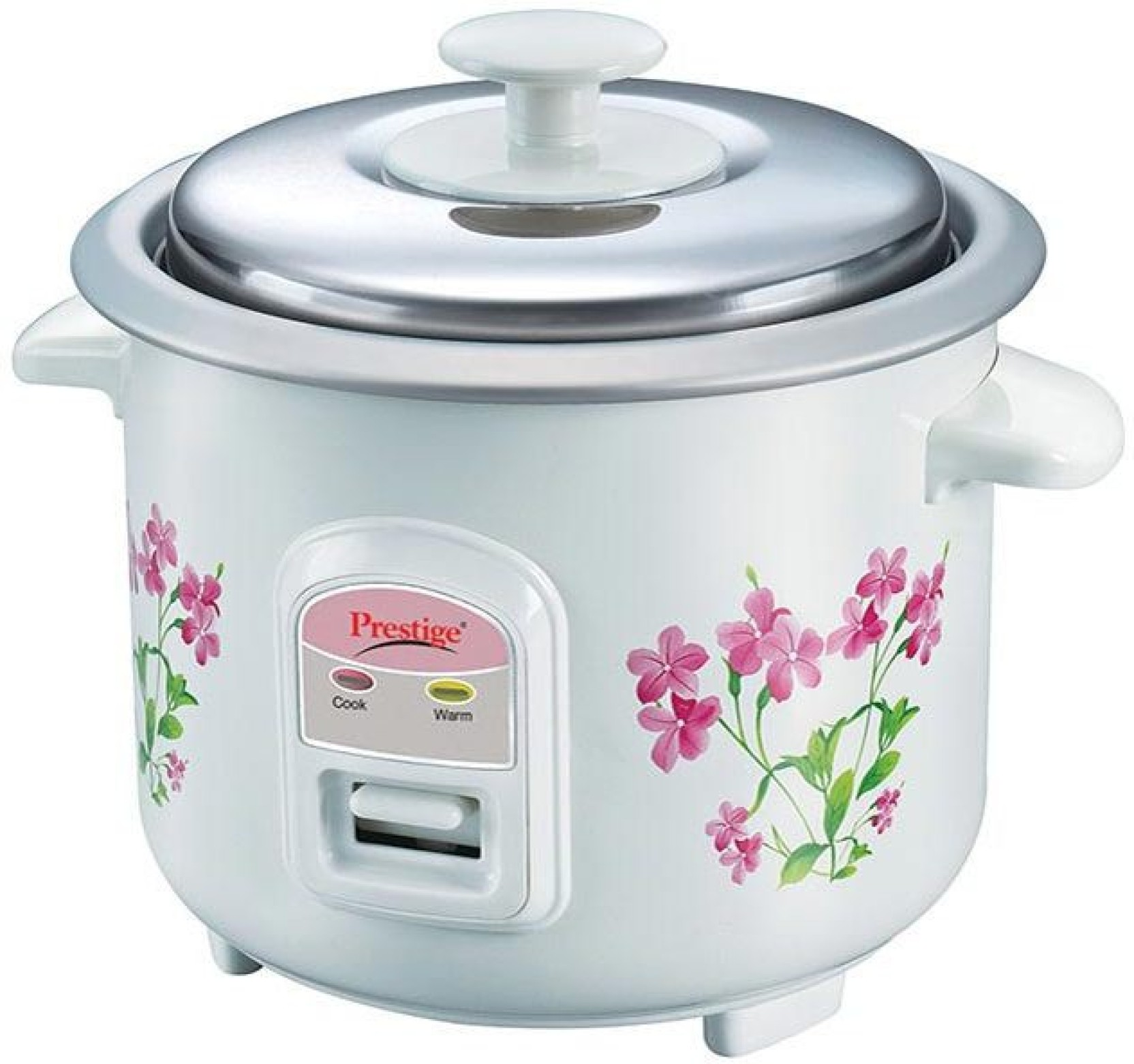Prestige PRWO 0.6-2 Electric Rice Cooker with Steaming Feature Price ...