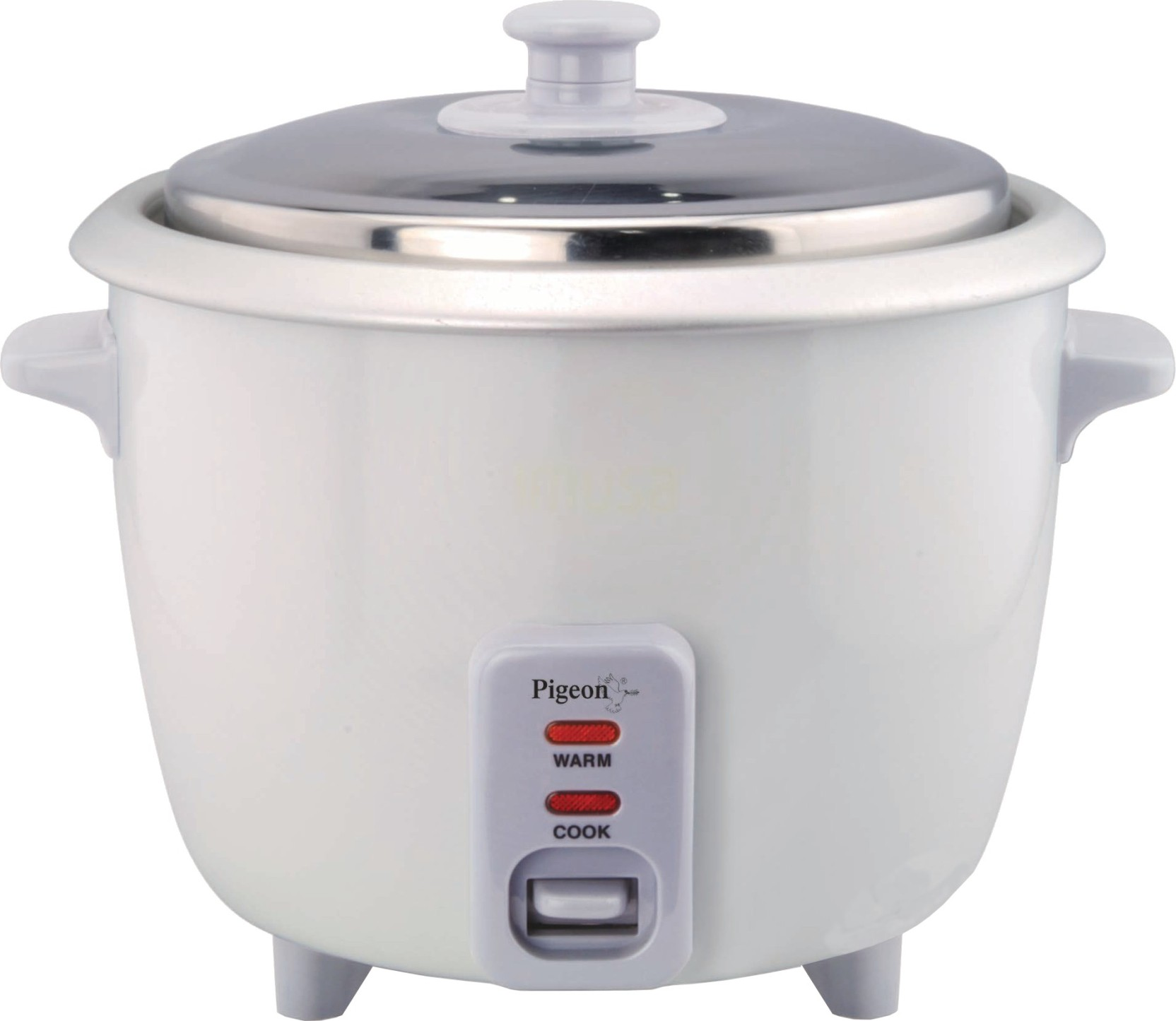 Pigeon Favourite Electric Rice Cooker With Steaming
