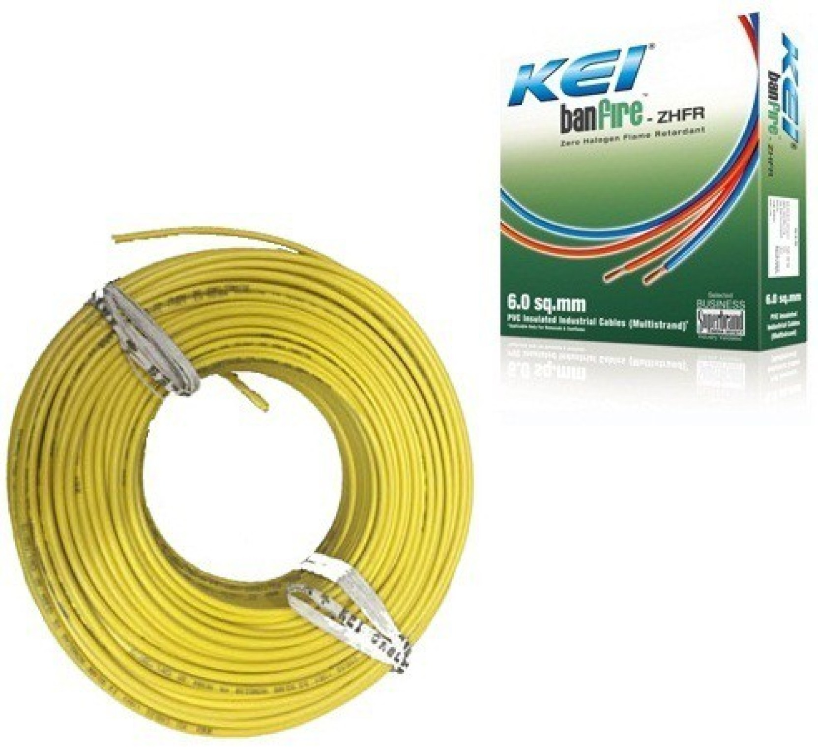 Kei Fr Pvc 15 Sq Mm Yellow 180 M Wire Price In India Buy Wiring A House For Cable Share