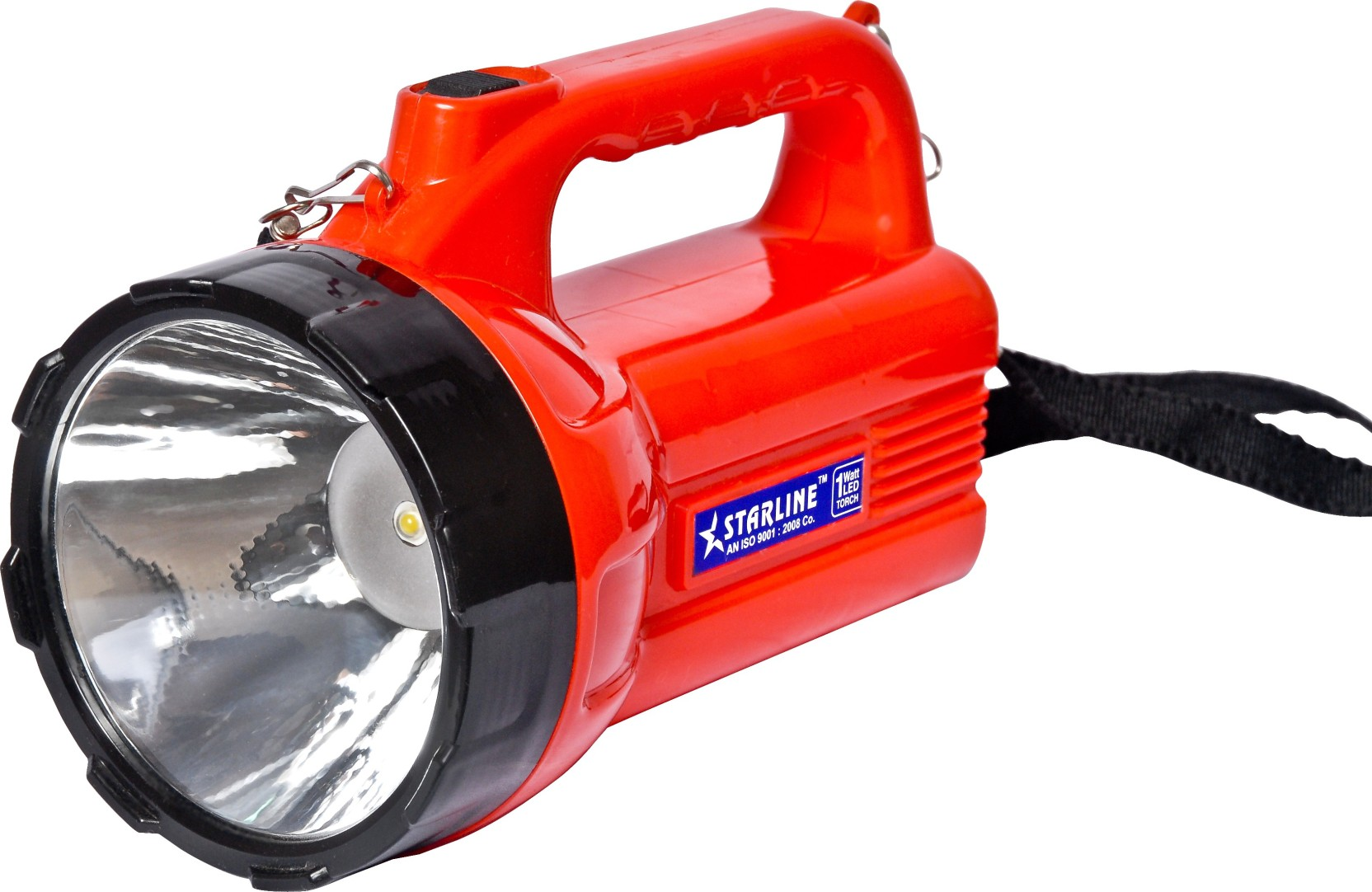 Starline Rechargeable Led Torch Emergency Light Price In India Buy Lamp Battery Protector Red