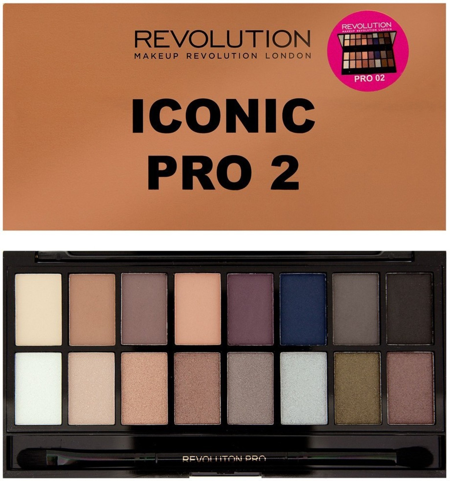 Makeup Revolution Iconic Pro 2 16 g (Multicolor)