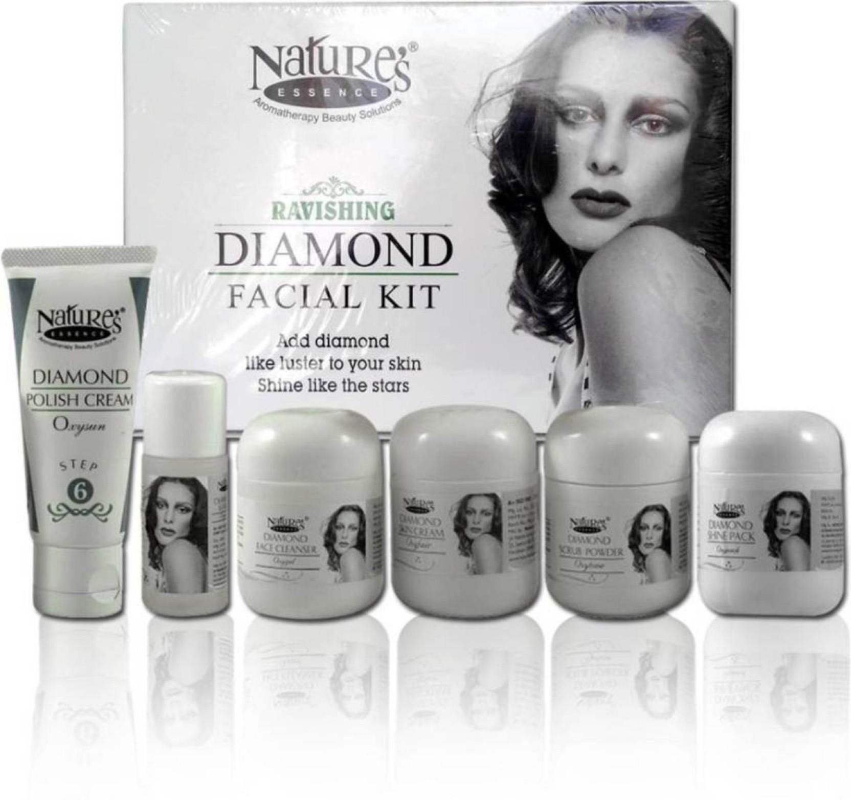 Natures Essence Diamond Facial Kit Medium Pack 250 G Price In Walet Black Soap Original Box Add To Cart