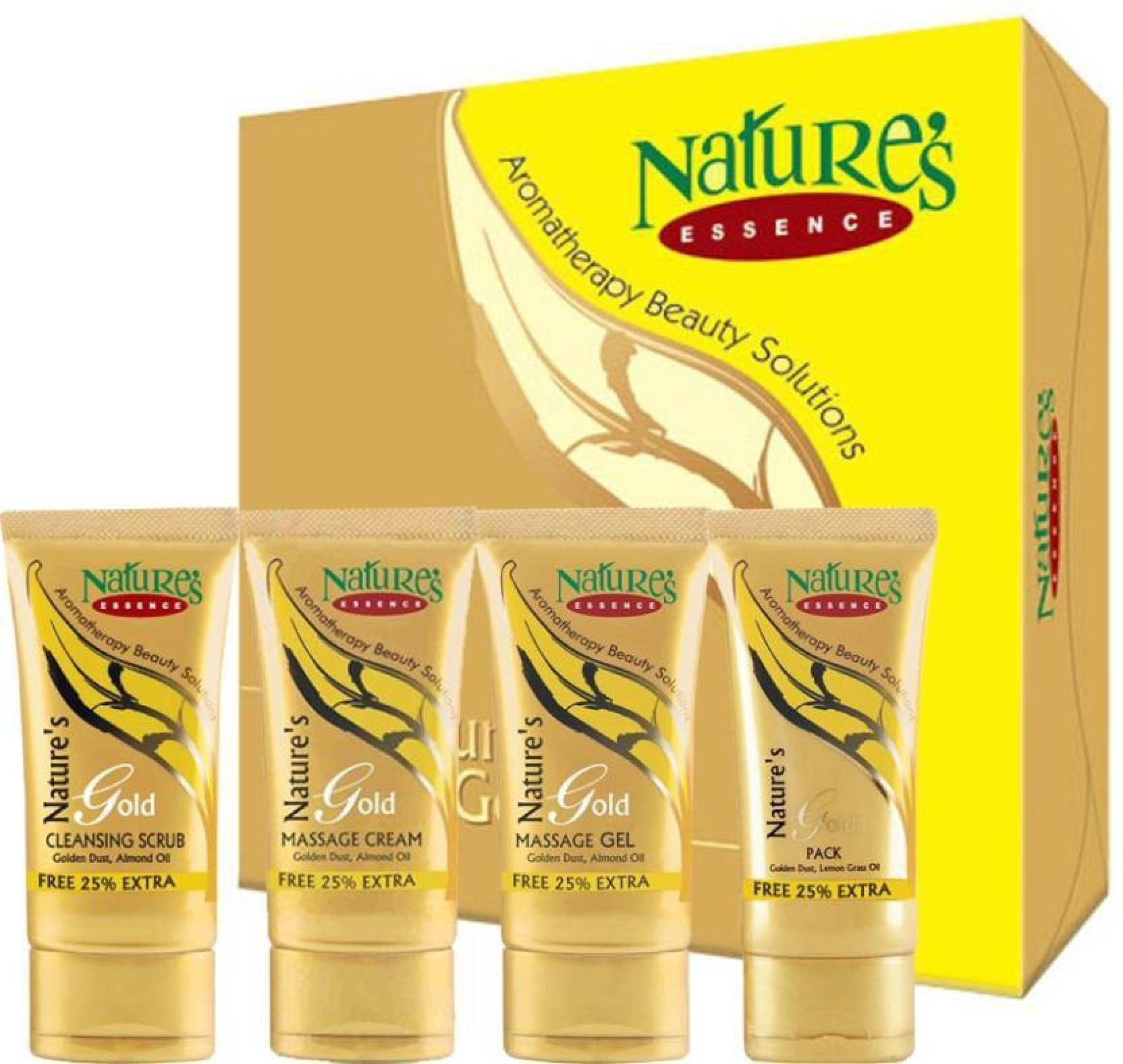 Natures Essence Gold Facial Kit Mini Pack 125 G Price In India Metal Polish Cream 50 Gr On Offer
