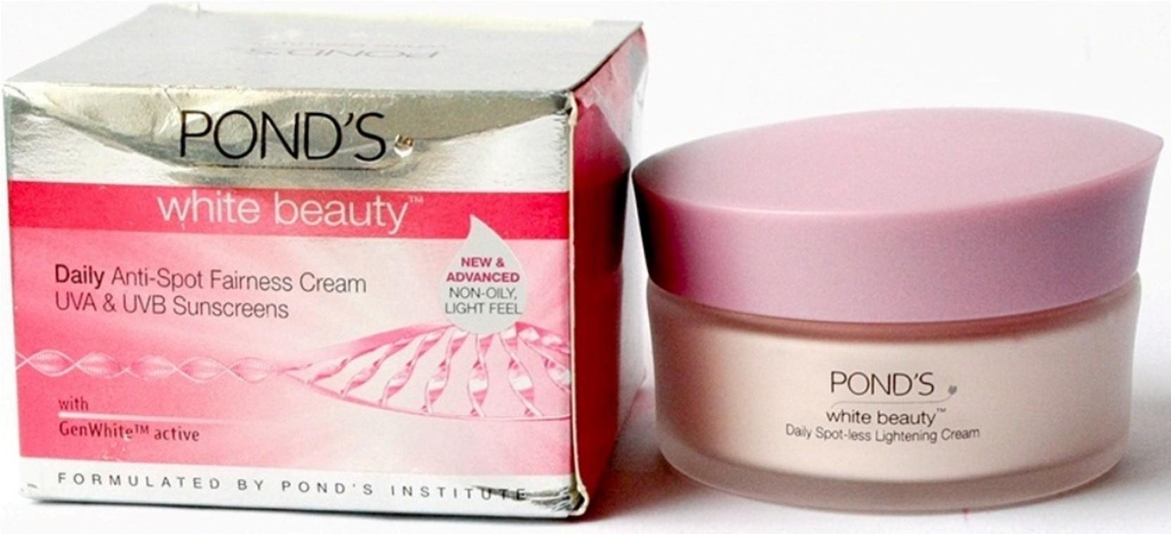 Ponds White Beauty Daily Anti Spot Fairness Cream Uva Uvb Price Package Share