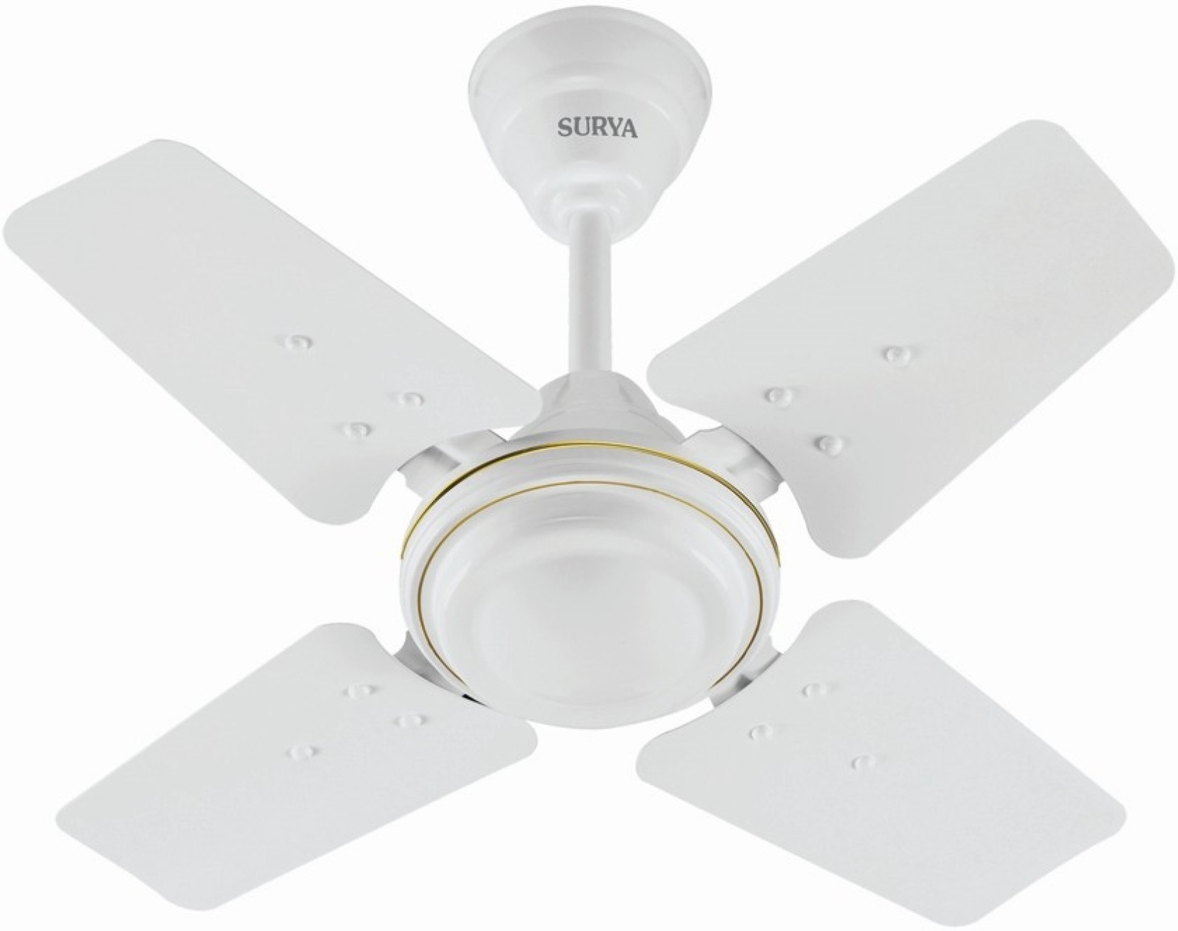 Surya Sparrow 600mm 24inch 4 Blade Ceiling Fan Price in India