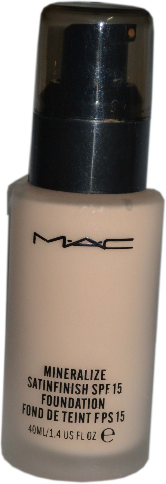 Have you used MAC Mineralize Satinfinish SPF 15 Foundation? Please rate in the box below.